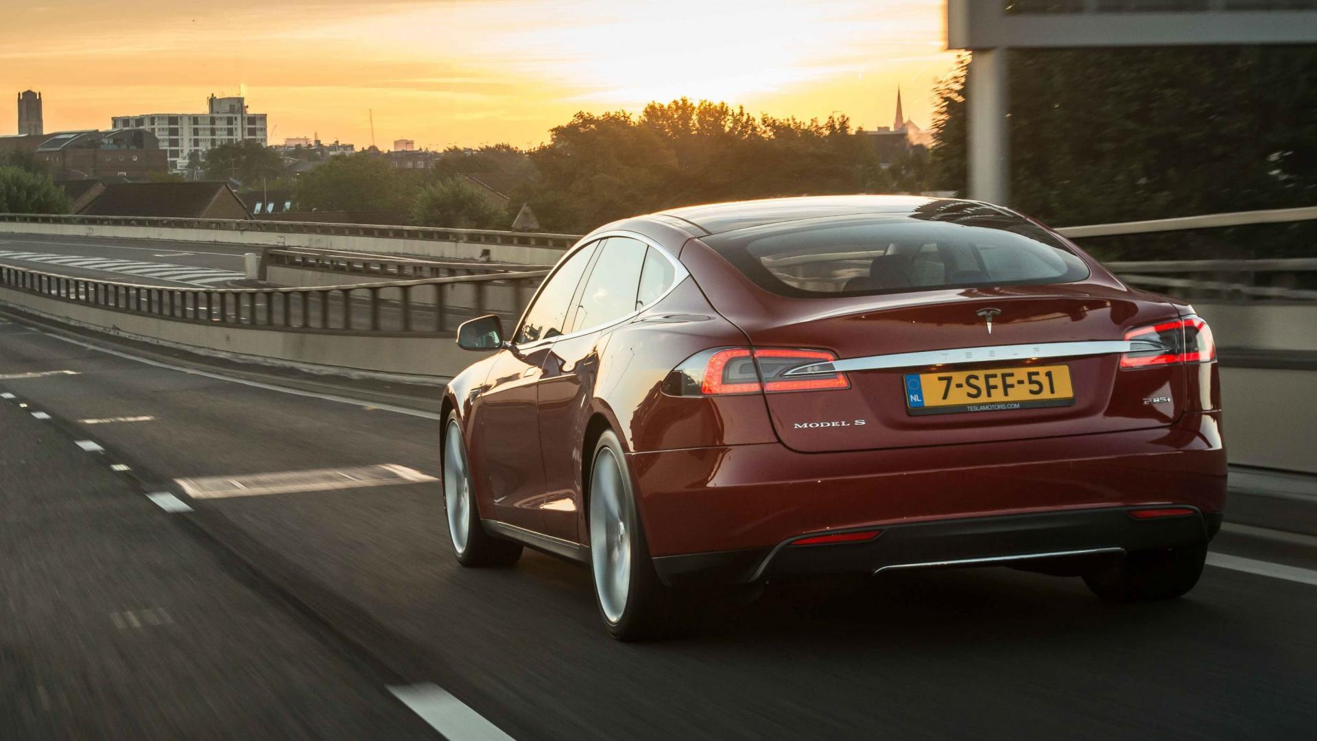 Tesla Model S in Nederland
