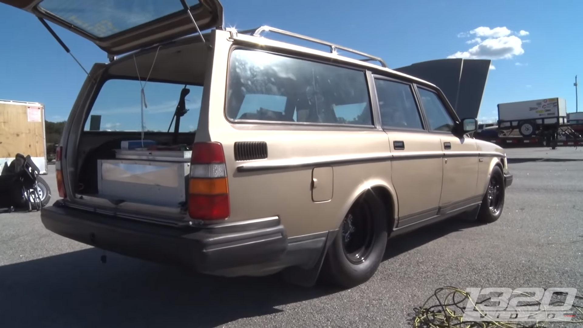 Volvo 240 Estate is een schone sleeper