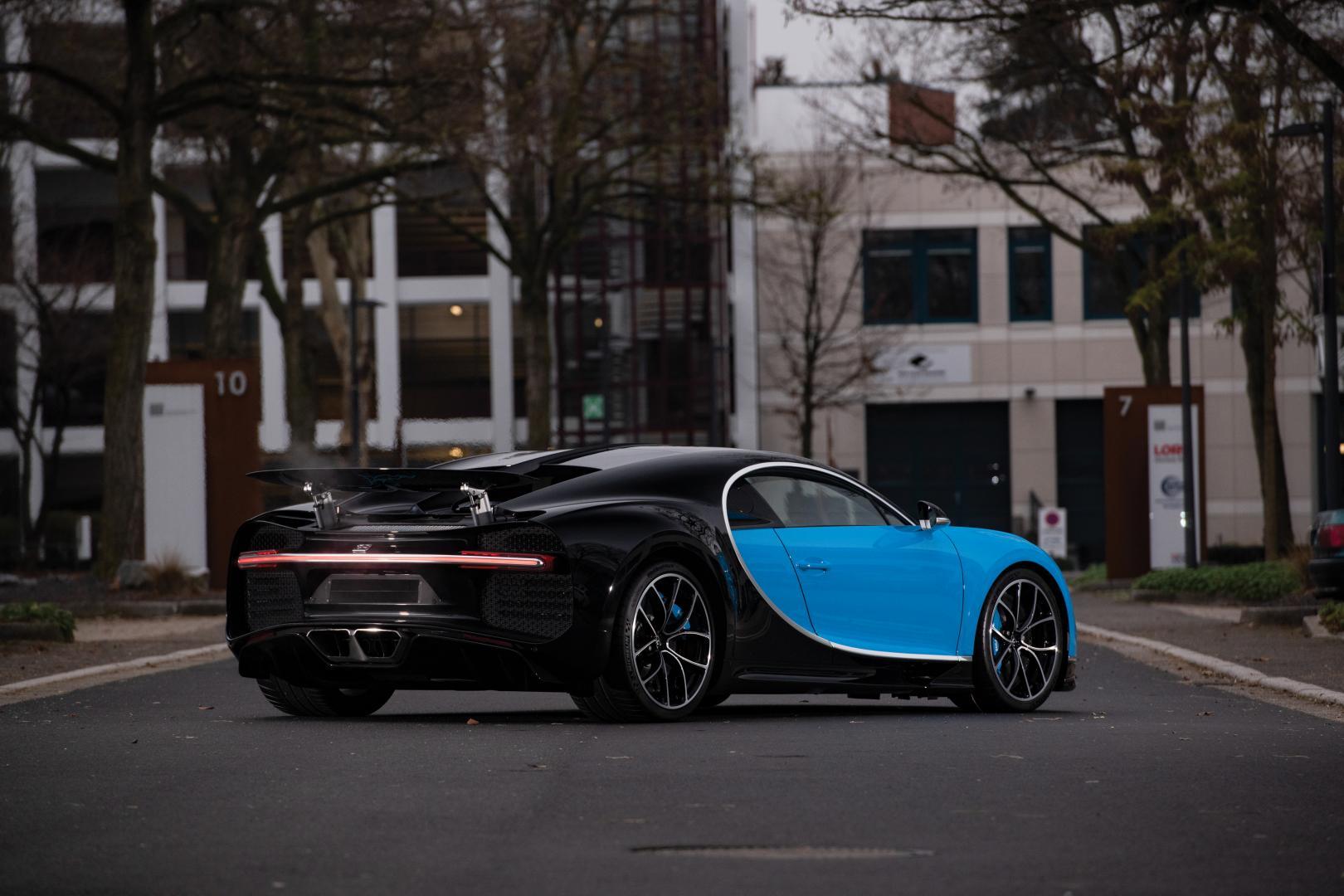Bugatti Chiron interieur