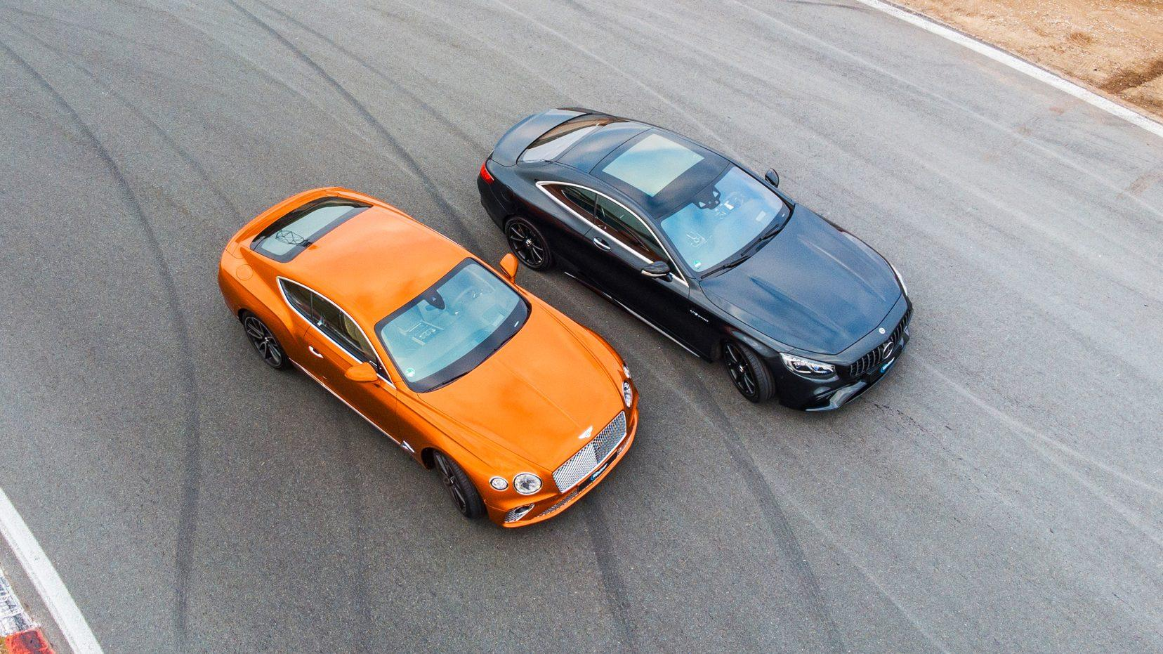 Bentley Continental GT vs Mercedes-AMG S 65 Coupe