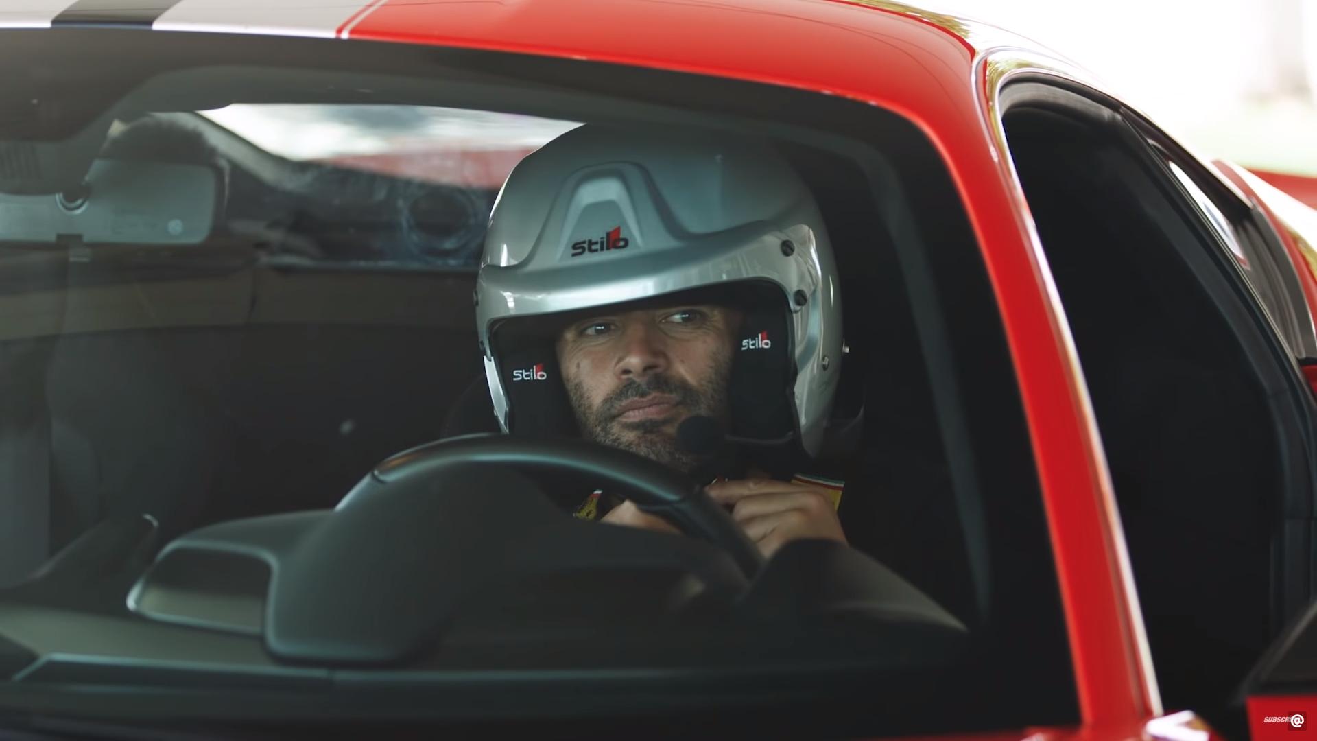 Ferrari 488 Pista Chris Harris