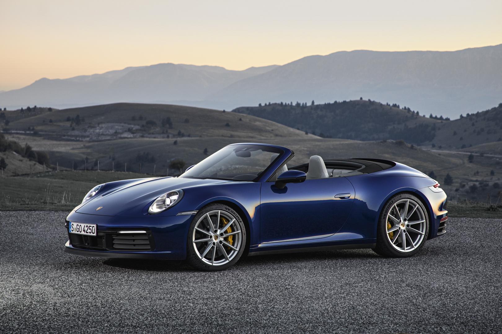 Porsche 911 Cabrio 2019