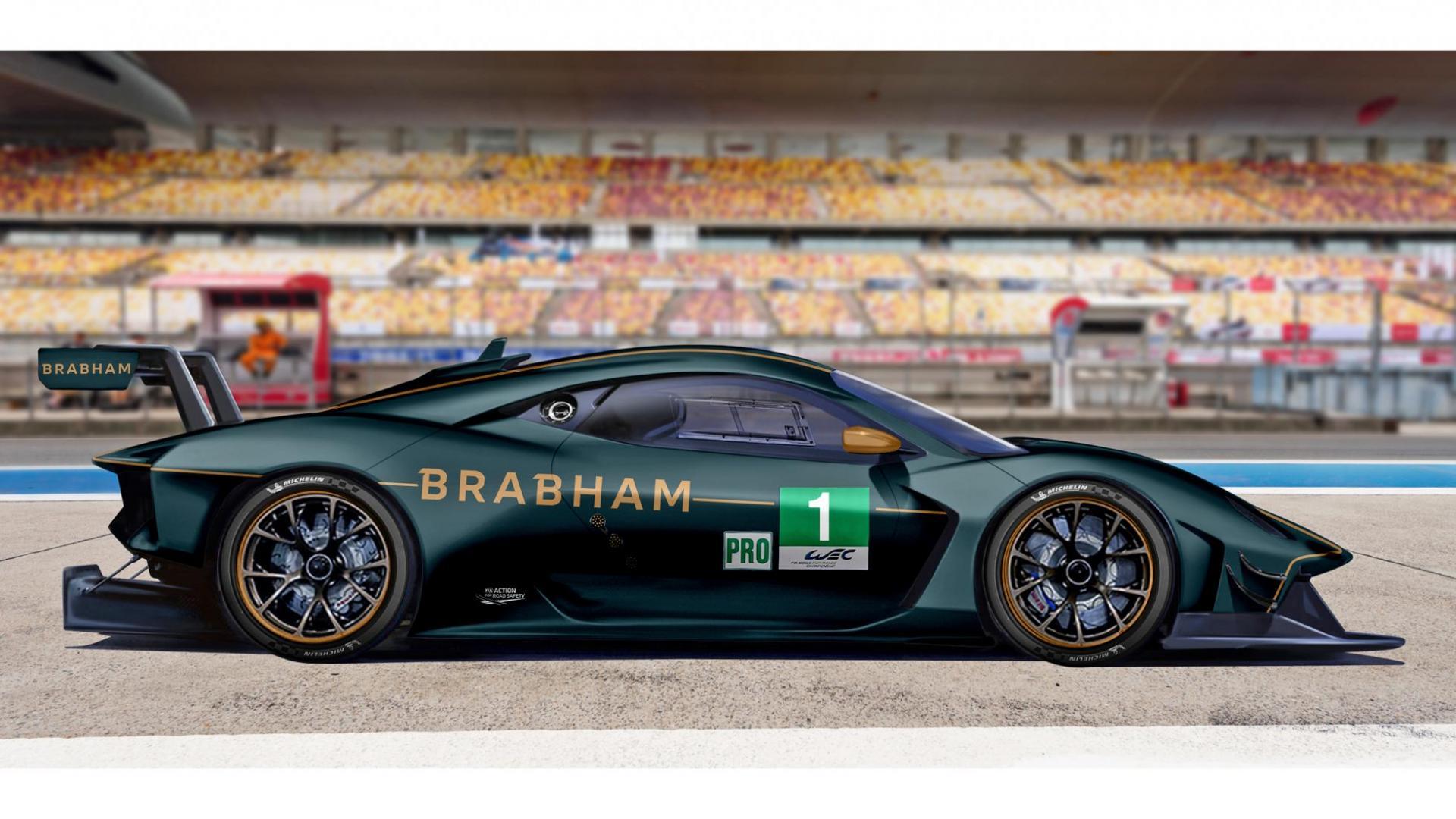 Brabham BT62 gaat meedoen aan Le Mans