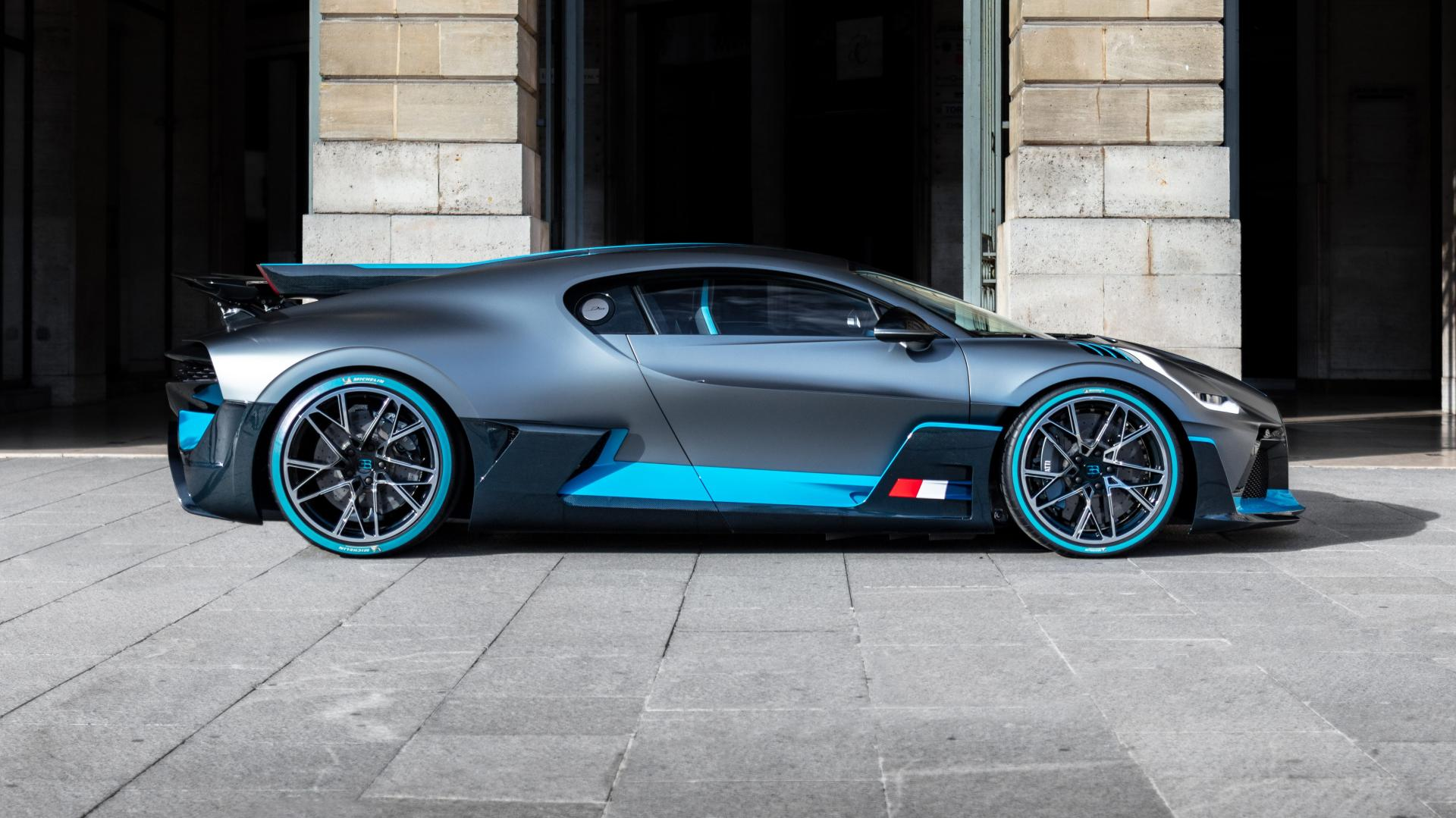 Bugatti Divo in Parijs, Frankrijk