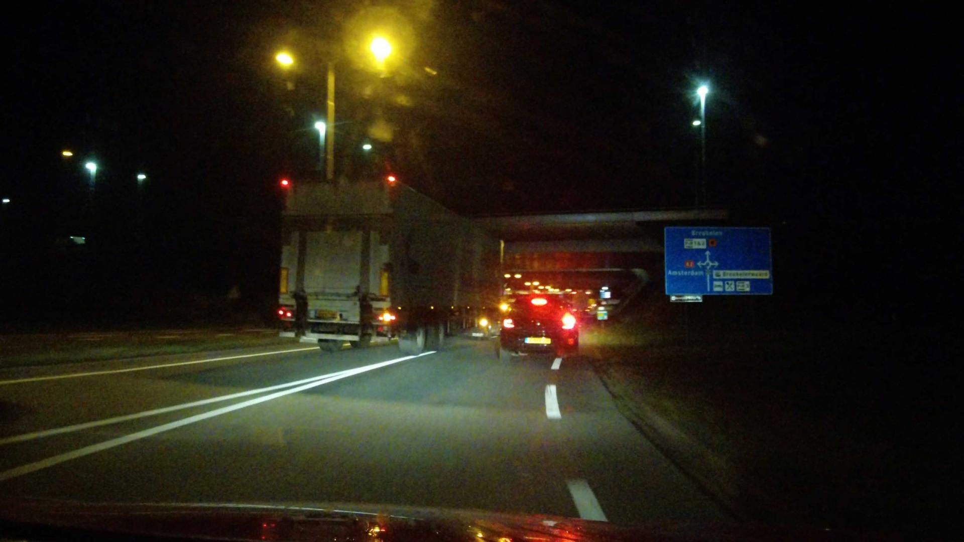 Vrachtwagen haast