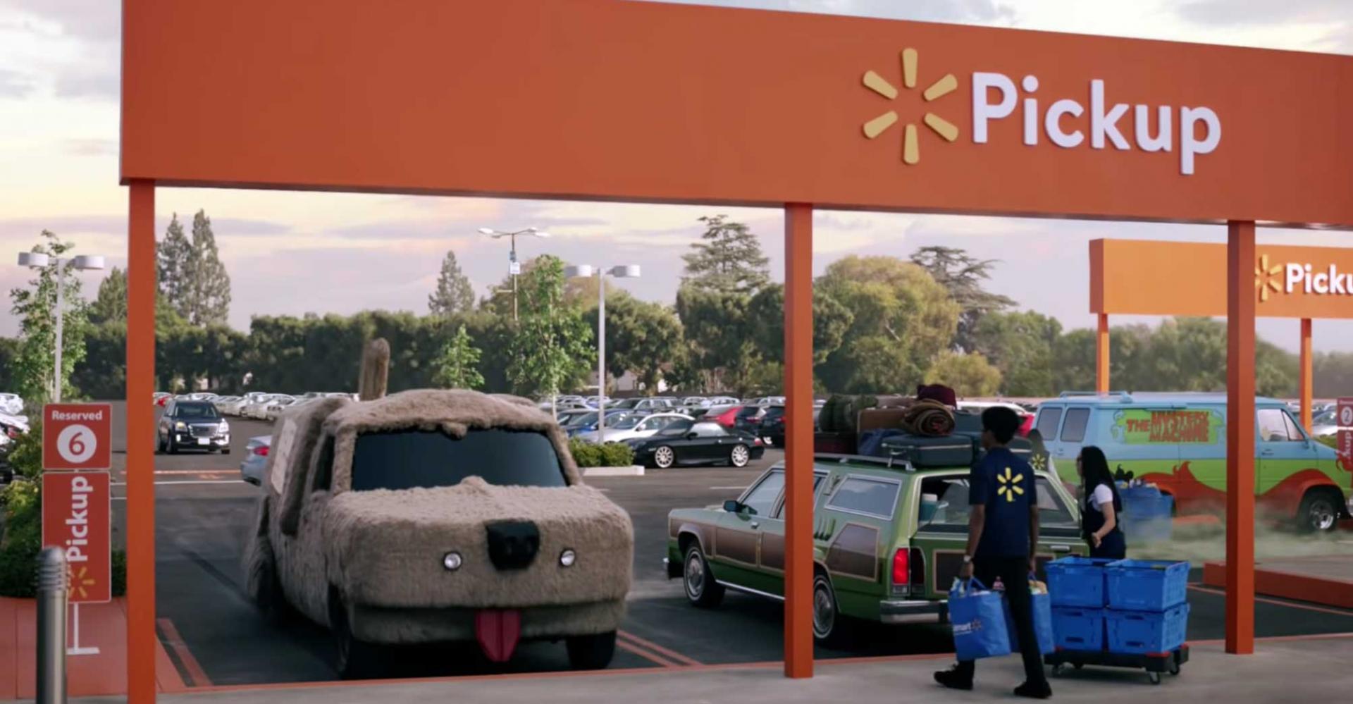 Walmart-reclame tijdens Super Bowl