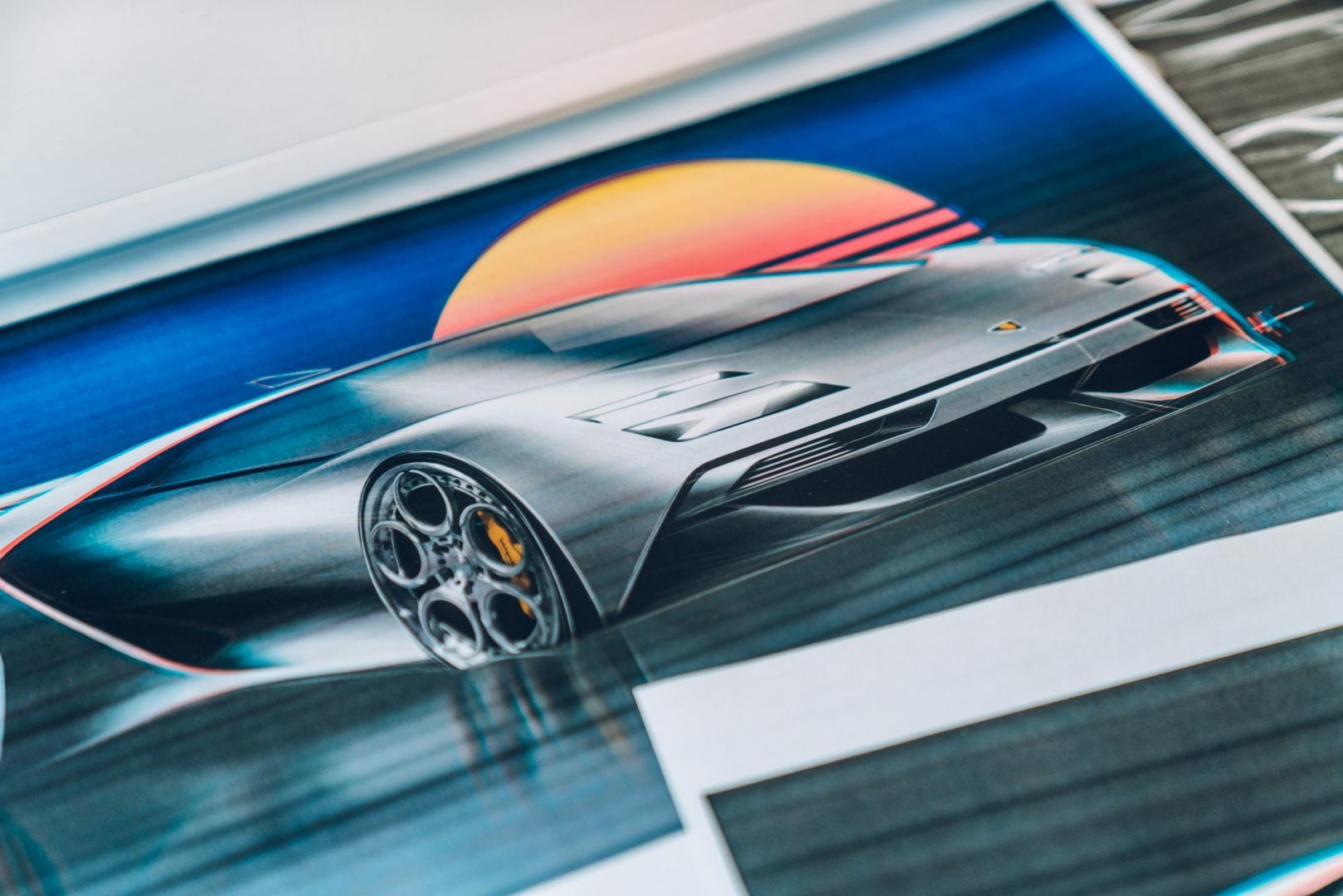 Lamborghini Countach-remake