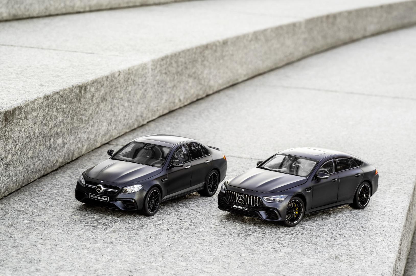 Mercedes-AMG GT 63 S 4-door en E 63 S Schaalmodel