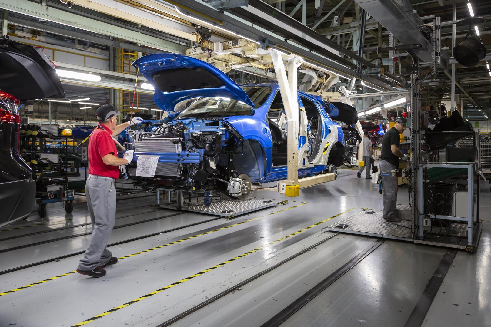 Miljoenste Nissan Juke in de Nissan-Fabriek