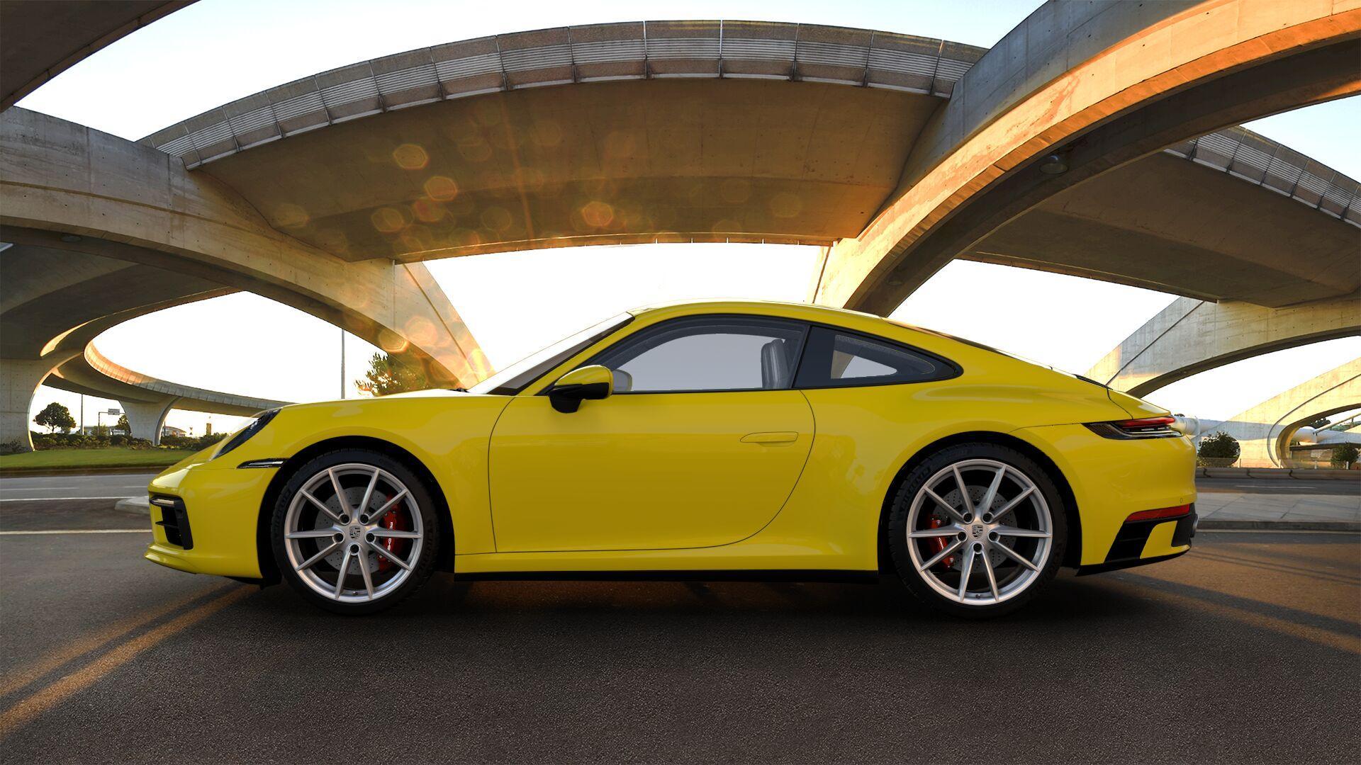 Porsche 911 met SportDesign-pakket