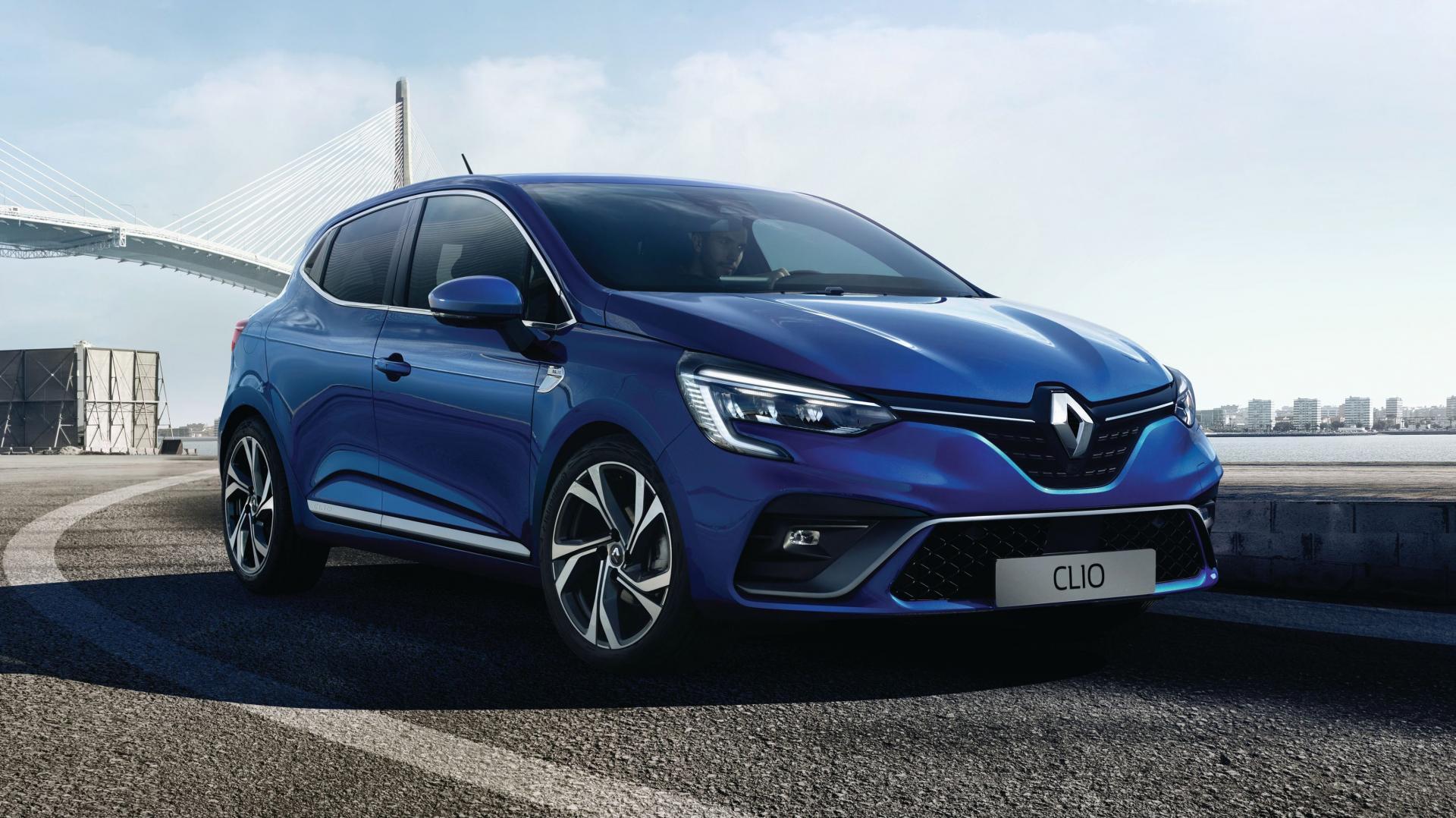 Renault Clio 2019 blauw