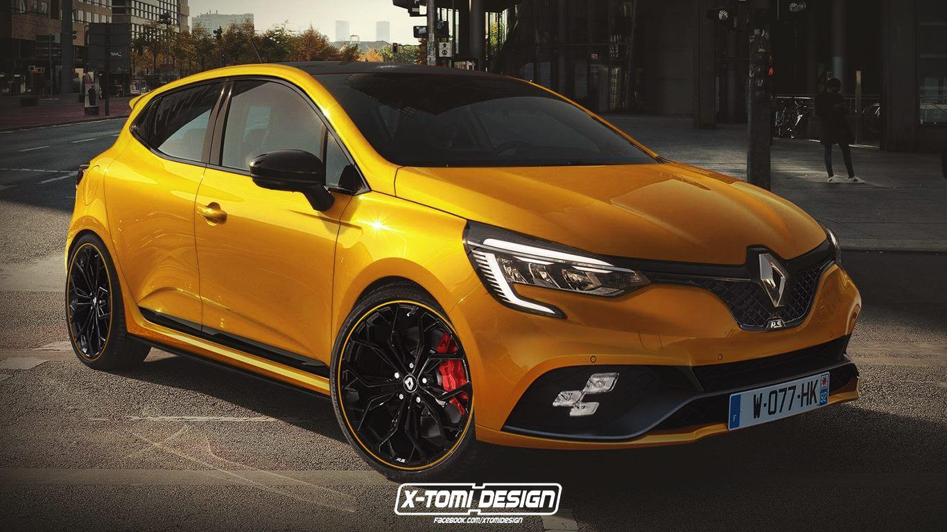 de nieuwe renault clio rs 2019 mag er best zo uitzien topgear. Black Bedroom Furniture Sets. Home Design Ideas