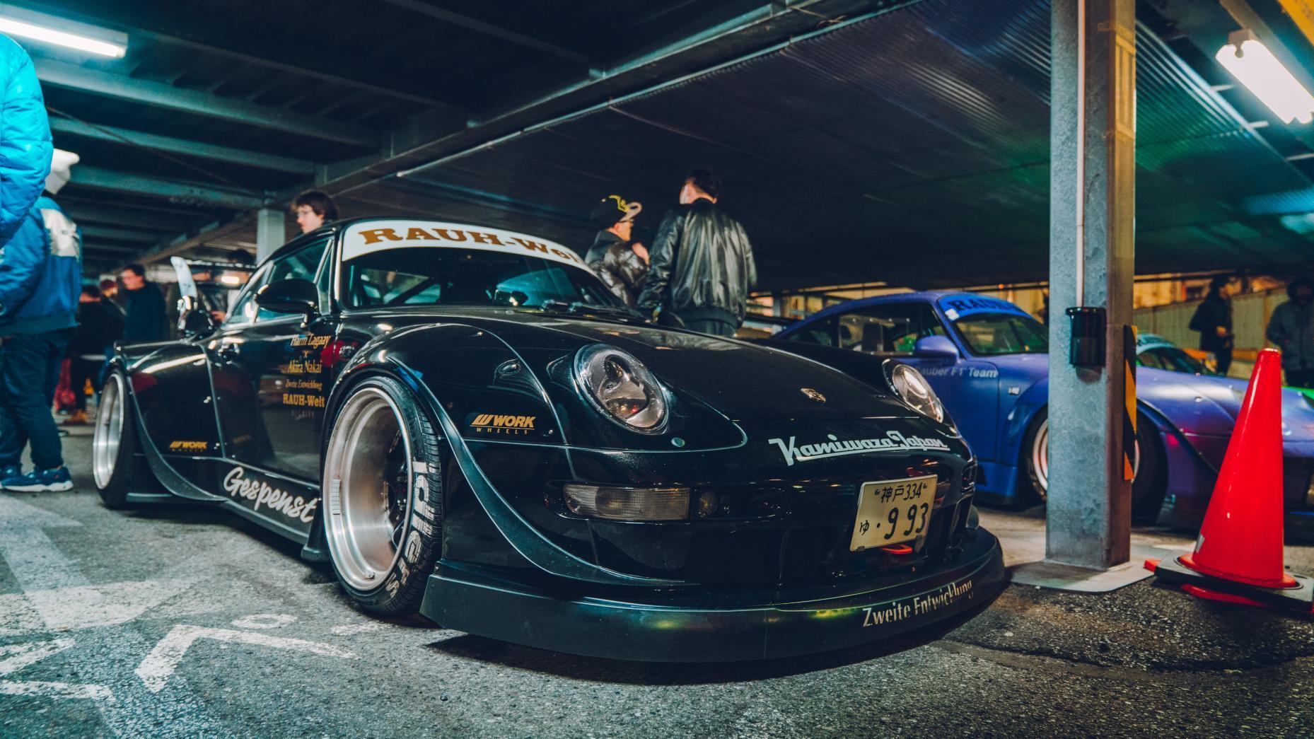 RWB-Porsches Rauh Welt BegriffRWB-Porsches Rauh Welt Begriff