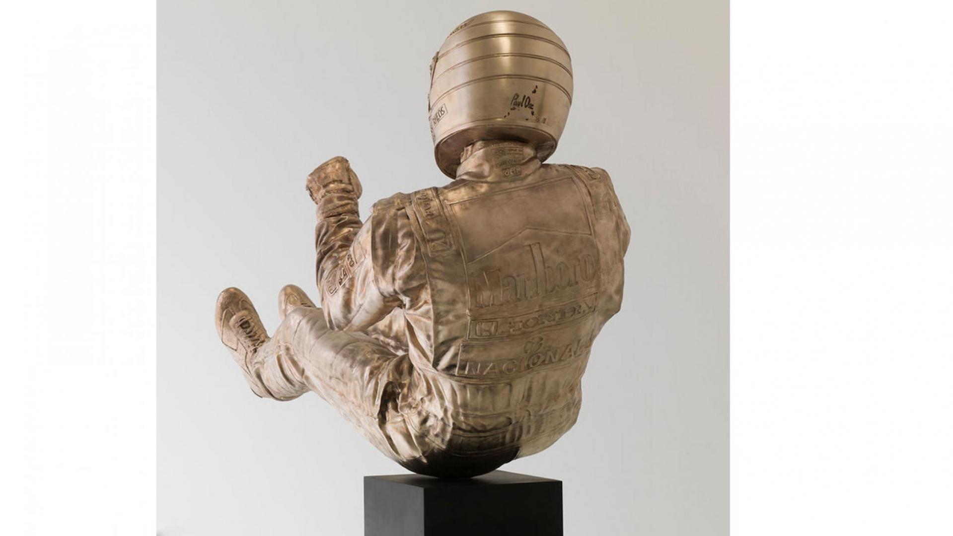 standbeelden van Ayrton Senna
