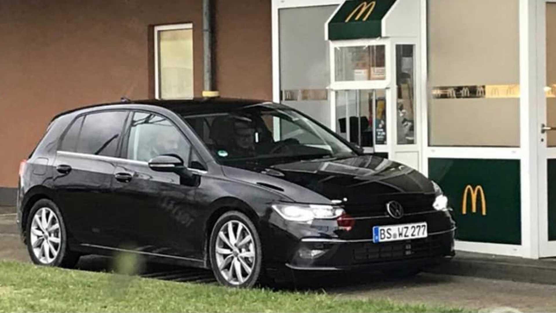 volkswagen golf 8 betrapt in de mcdrive topgear nederland. Black Bedroom Furniture Sets. Home Design Ideas