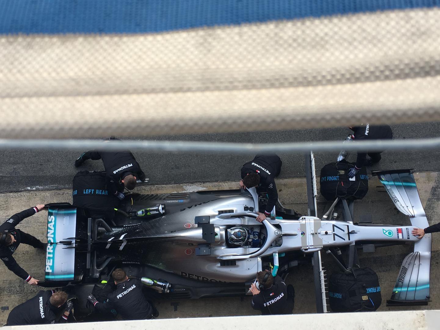 Eerste testdag Formule 1 2019