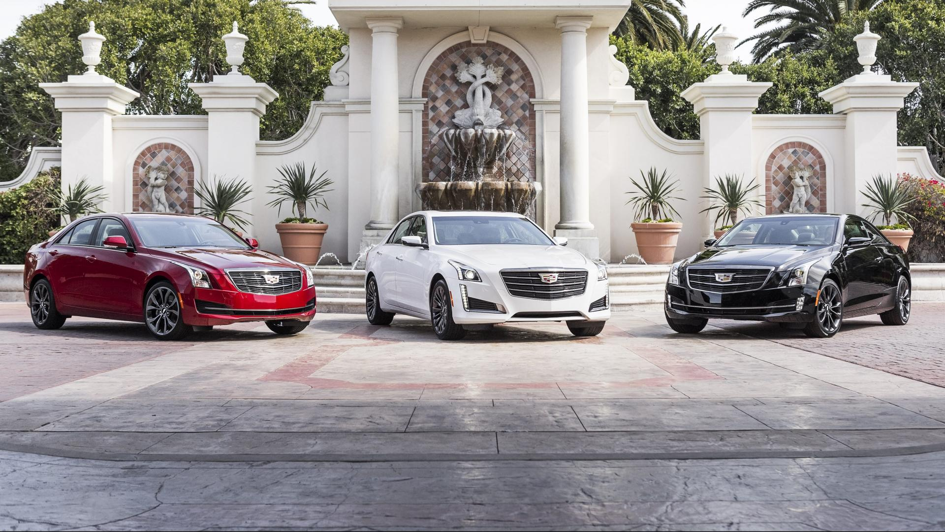 Cadillac ATS Sedan, Cuope en CTS Sedan