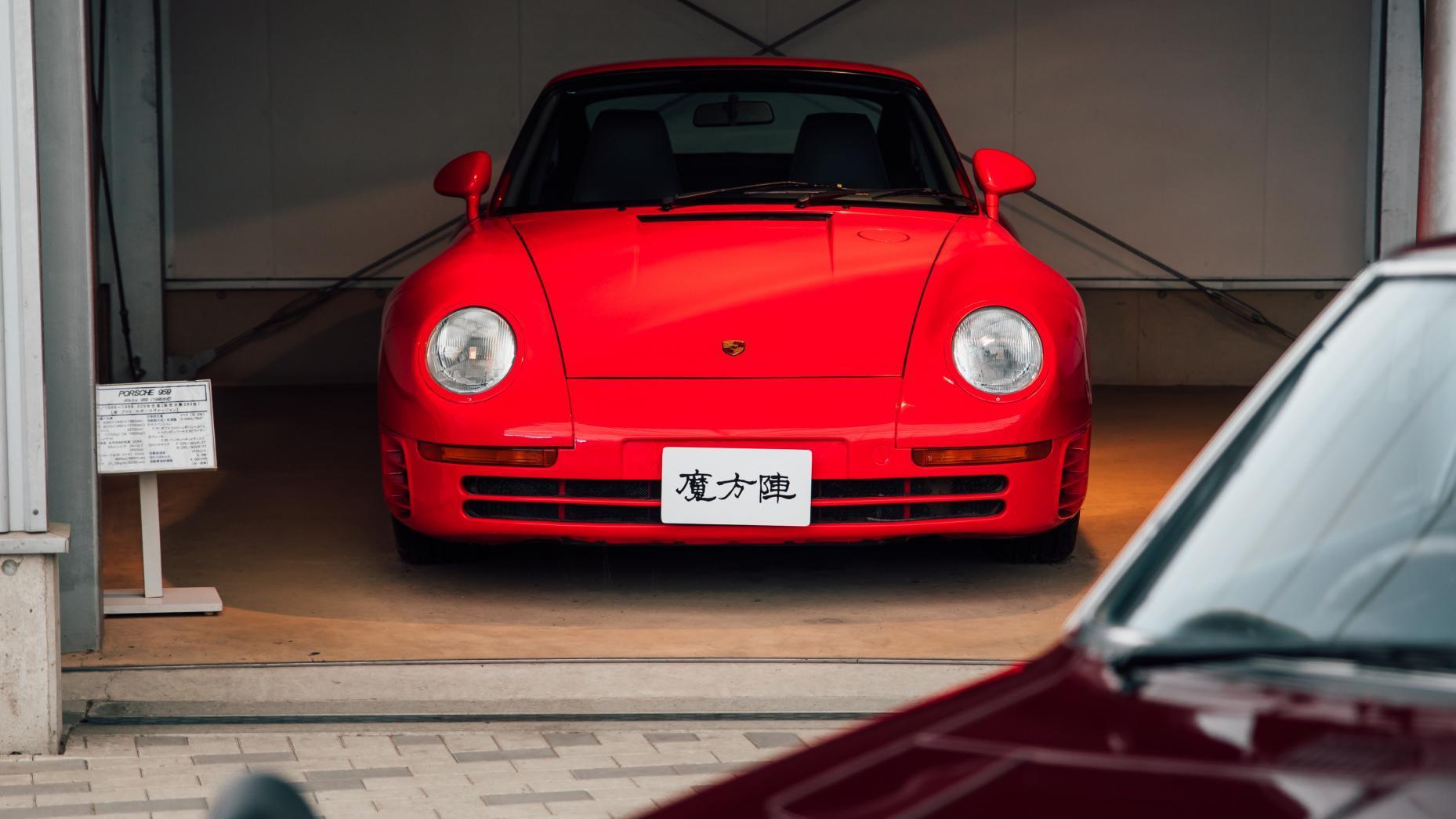 Vette auto's in Japan