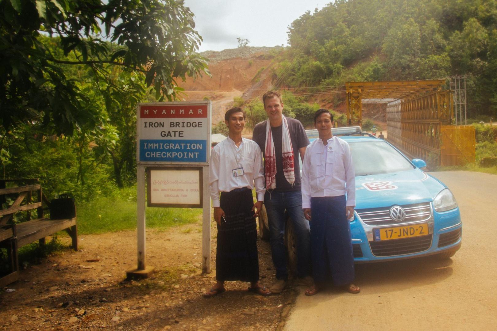 Elektrische Volkswagen Golf in Myanmar