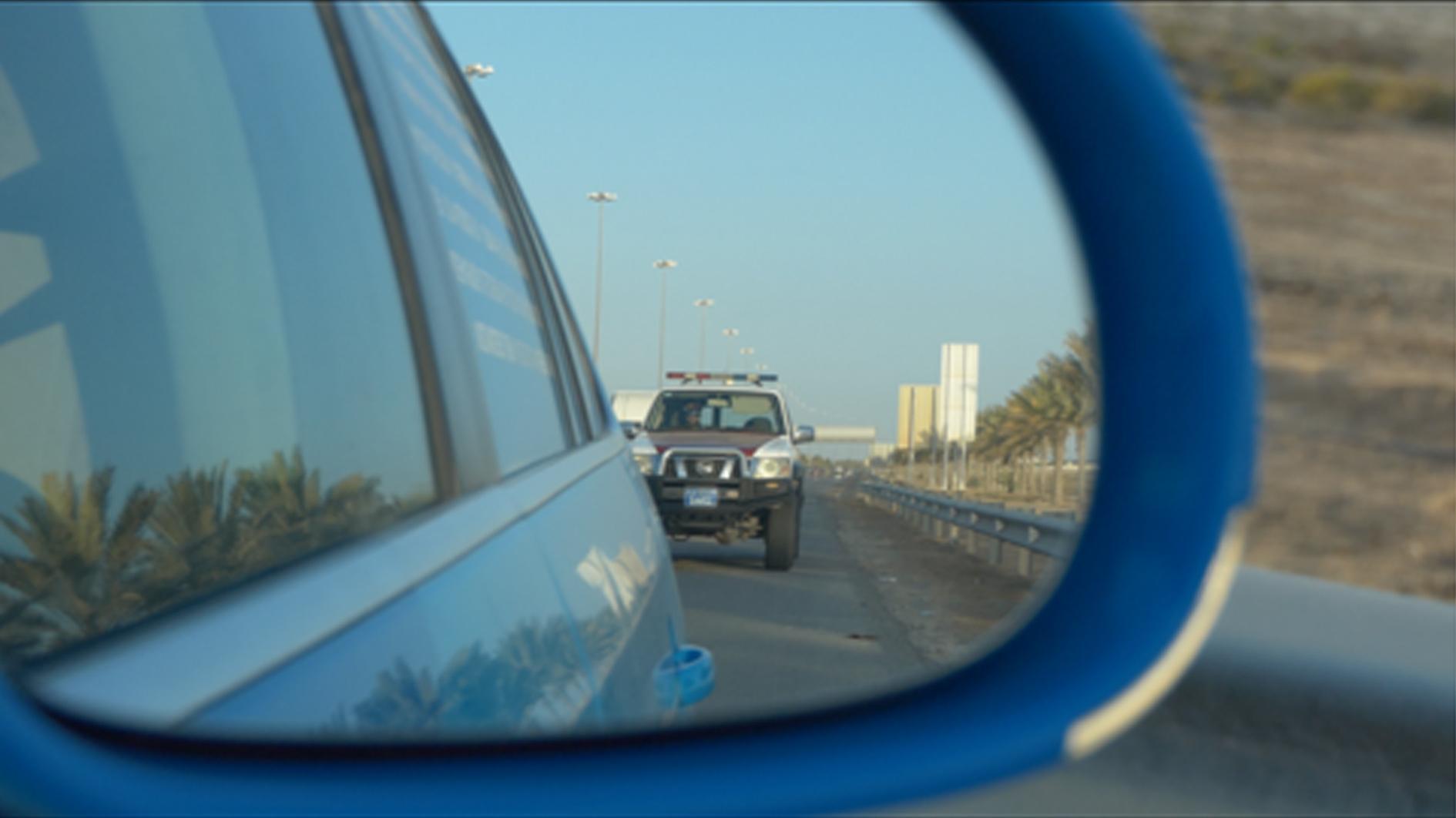 Wiebe Wakker met Volkswagen Golf in Dubai