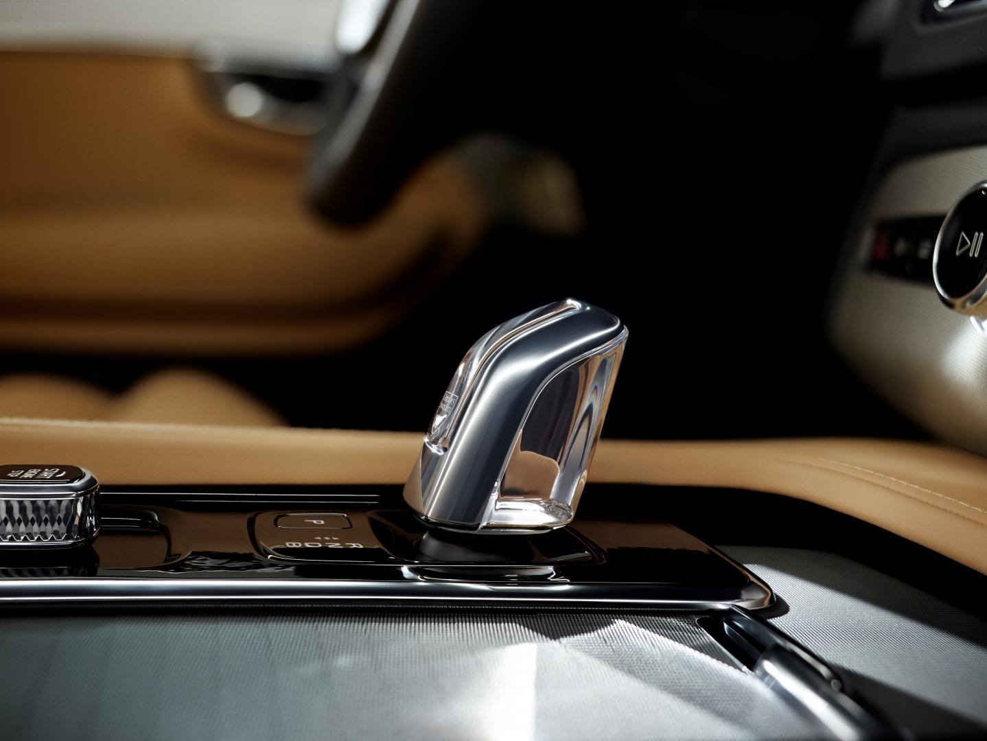 Volvo pookknop kristal designdetails
