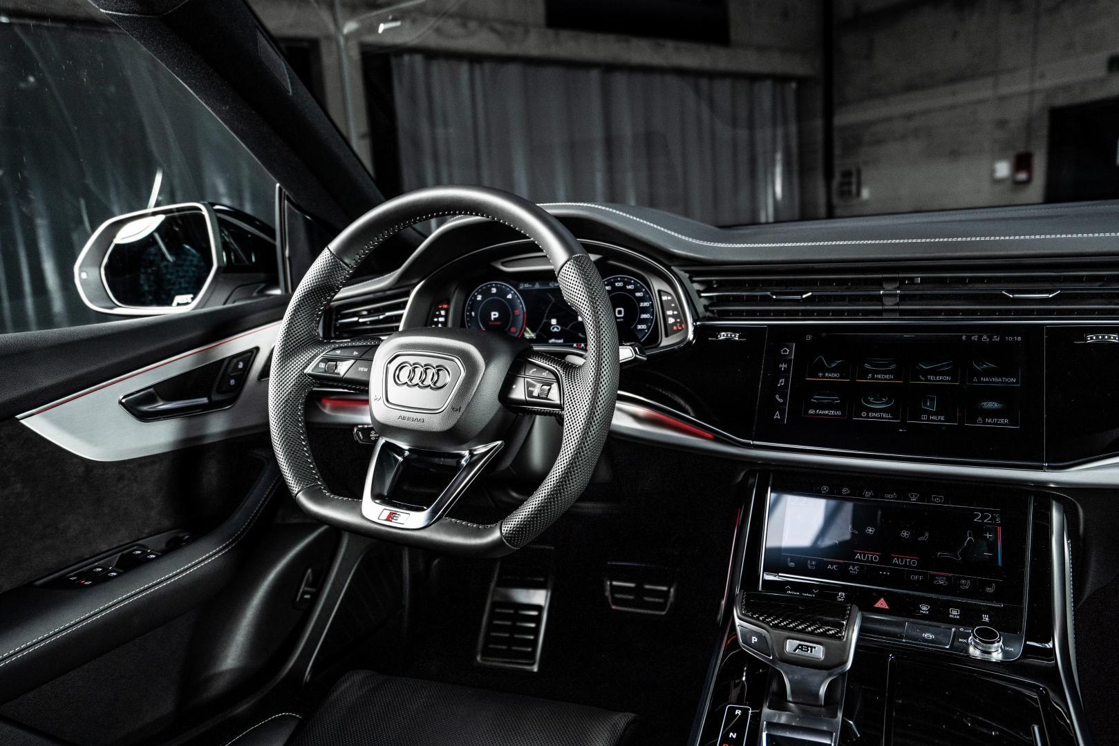Abt Audi Q8 interieur