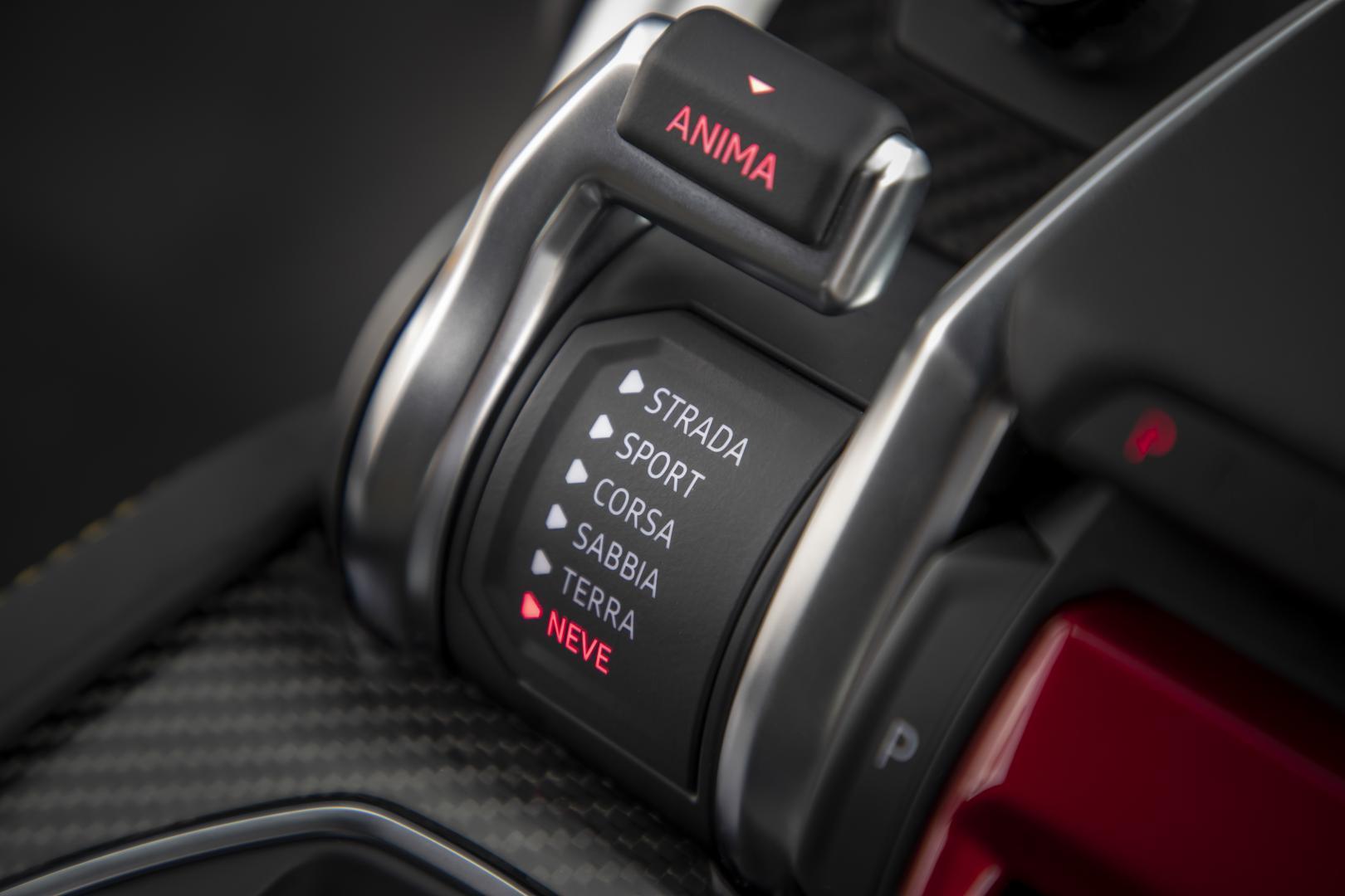 Anima-knop van Lamborghini Urus