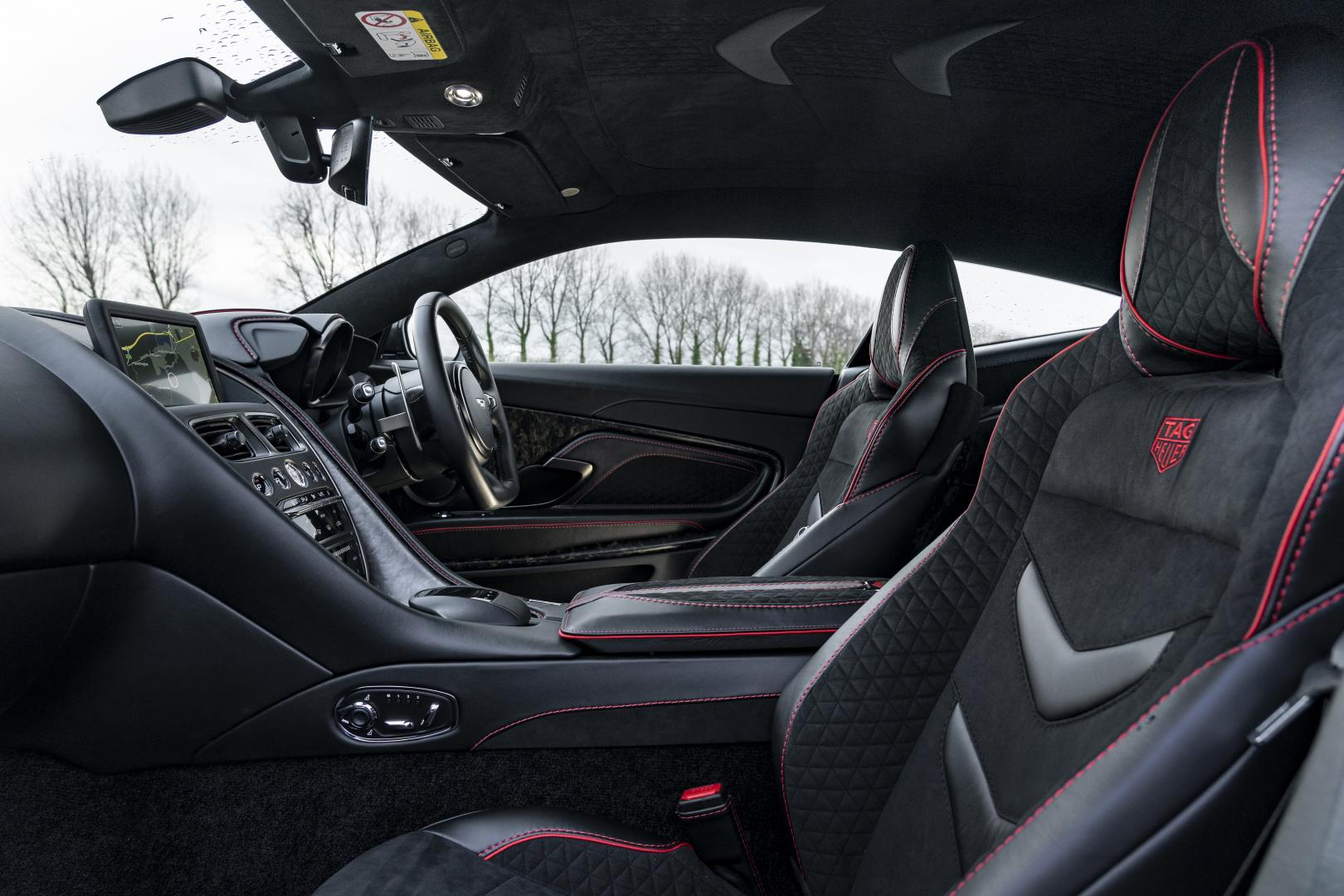 Aston Martin DBS Superleggera TAG Heuer Edition Interieur