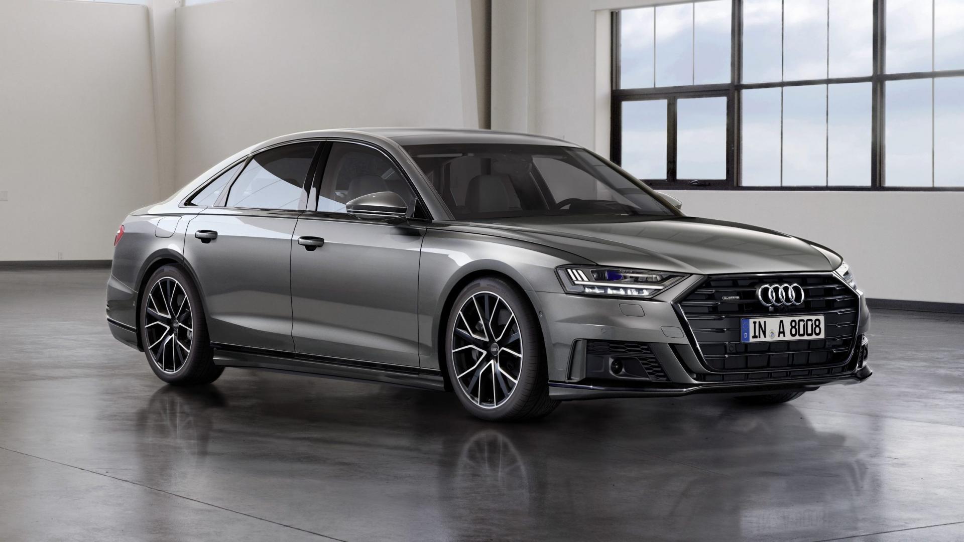 Audi A8 met sportpakket