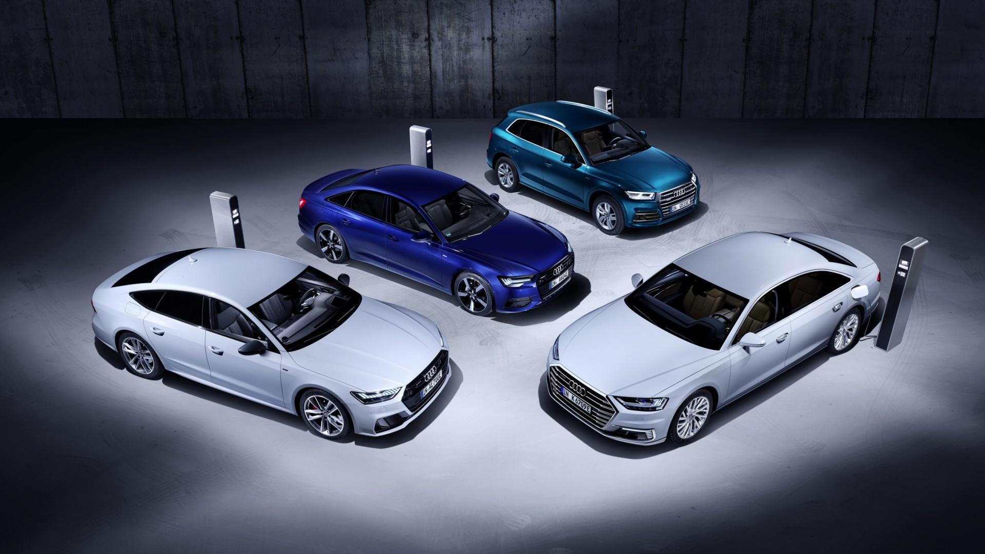 Audi plug-in aAudi plug-in hybride Audi Q5, A6, A7 und A8hybride