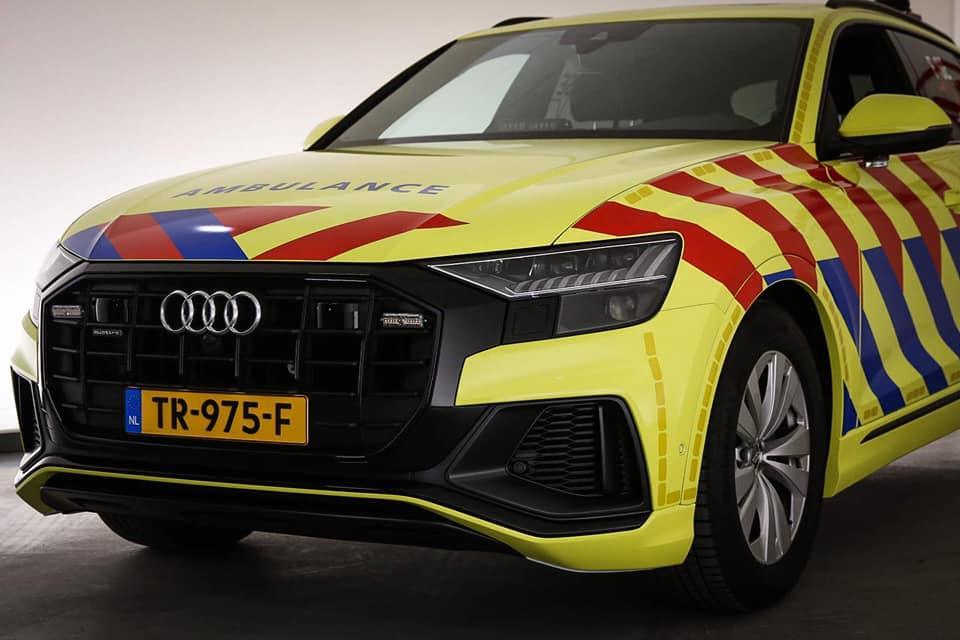 Audi Q8 ambulance