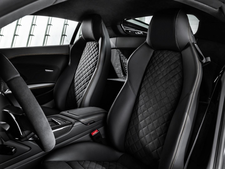Audi R8 V10 Decennium 2019 stoelen interieur
