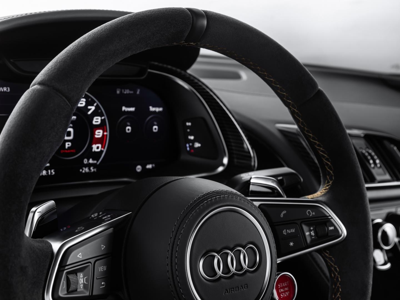 Audi R8 V10 Decennium 2019 tellers