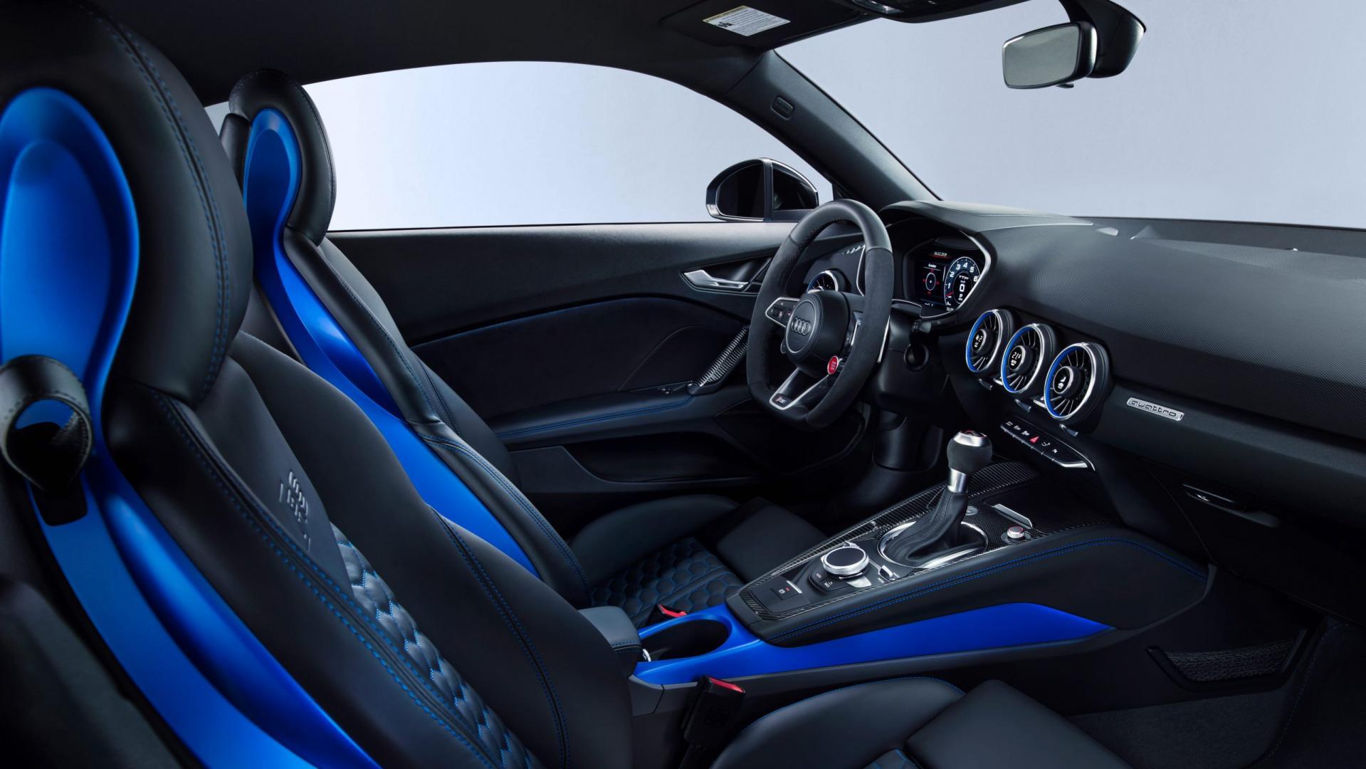 Audi TT RS Facelift 2019 interieur