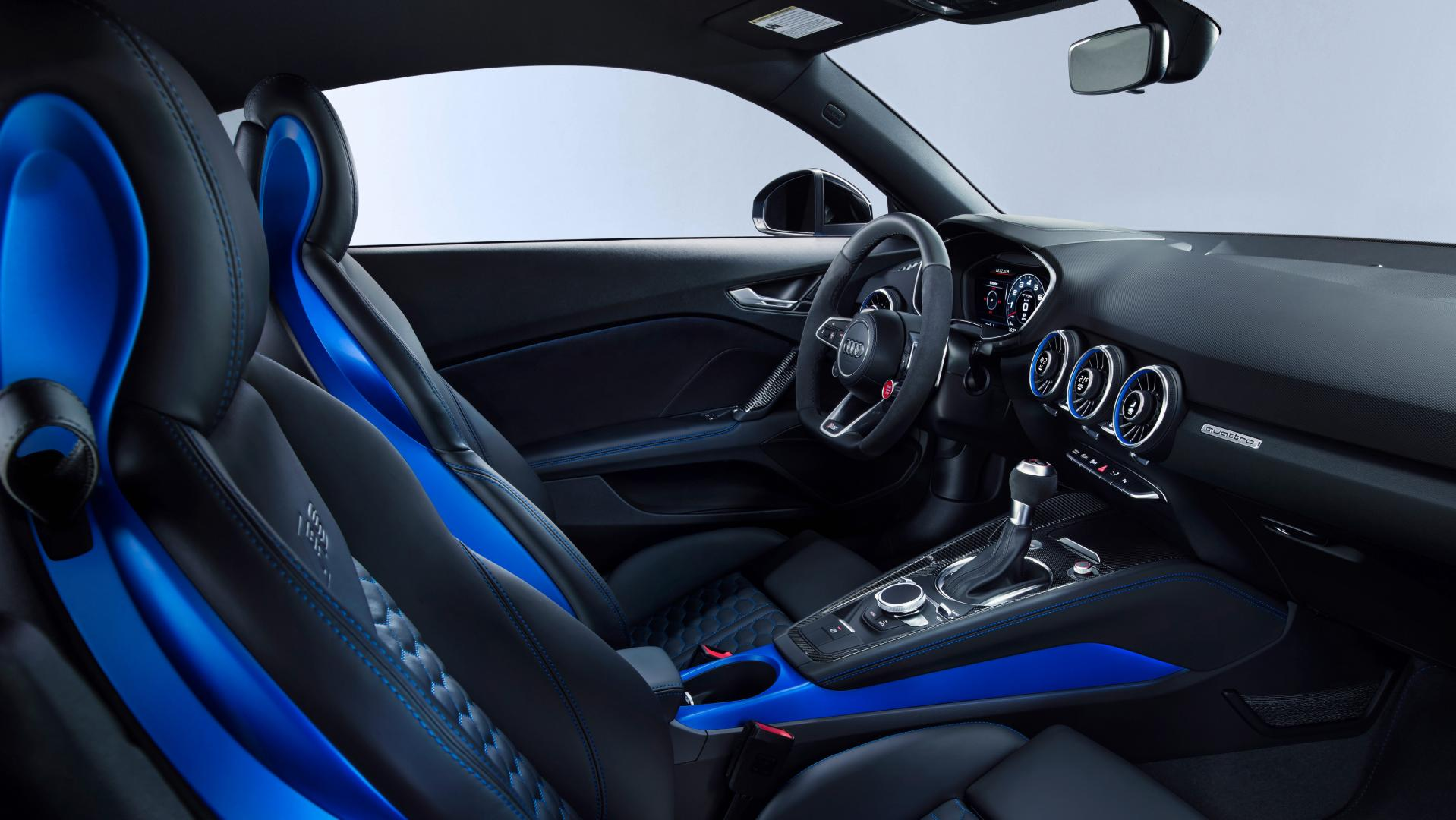 Audi TT RS Facelift 2019 interieur