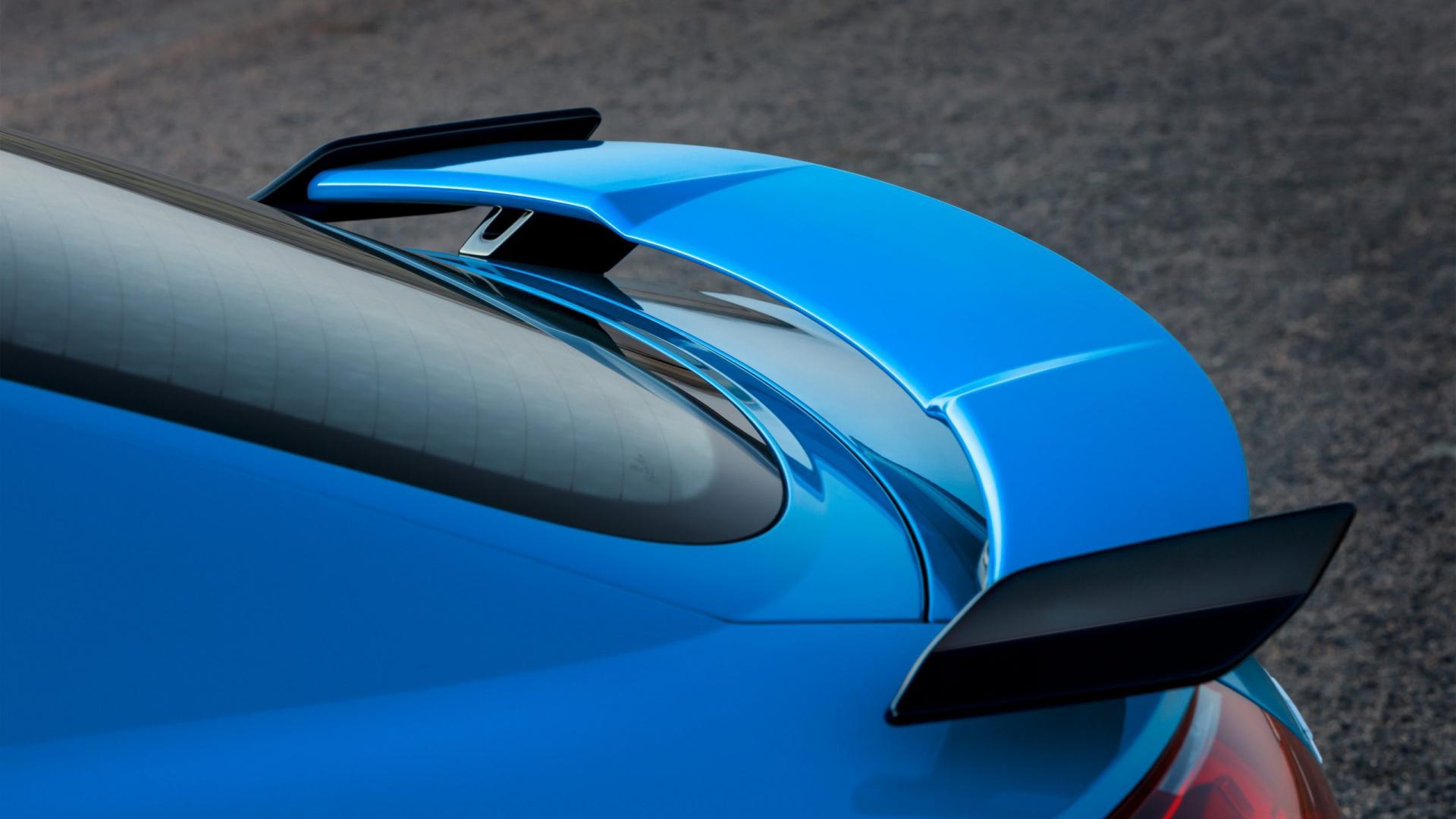 Audi TT RS facelift spoiler