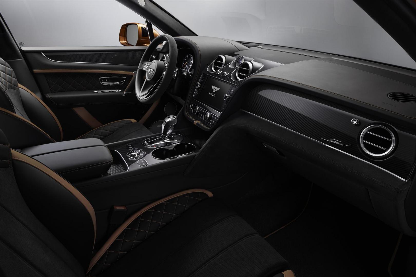 Bentley Bentayga Speed interieur stuur