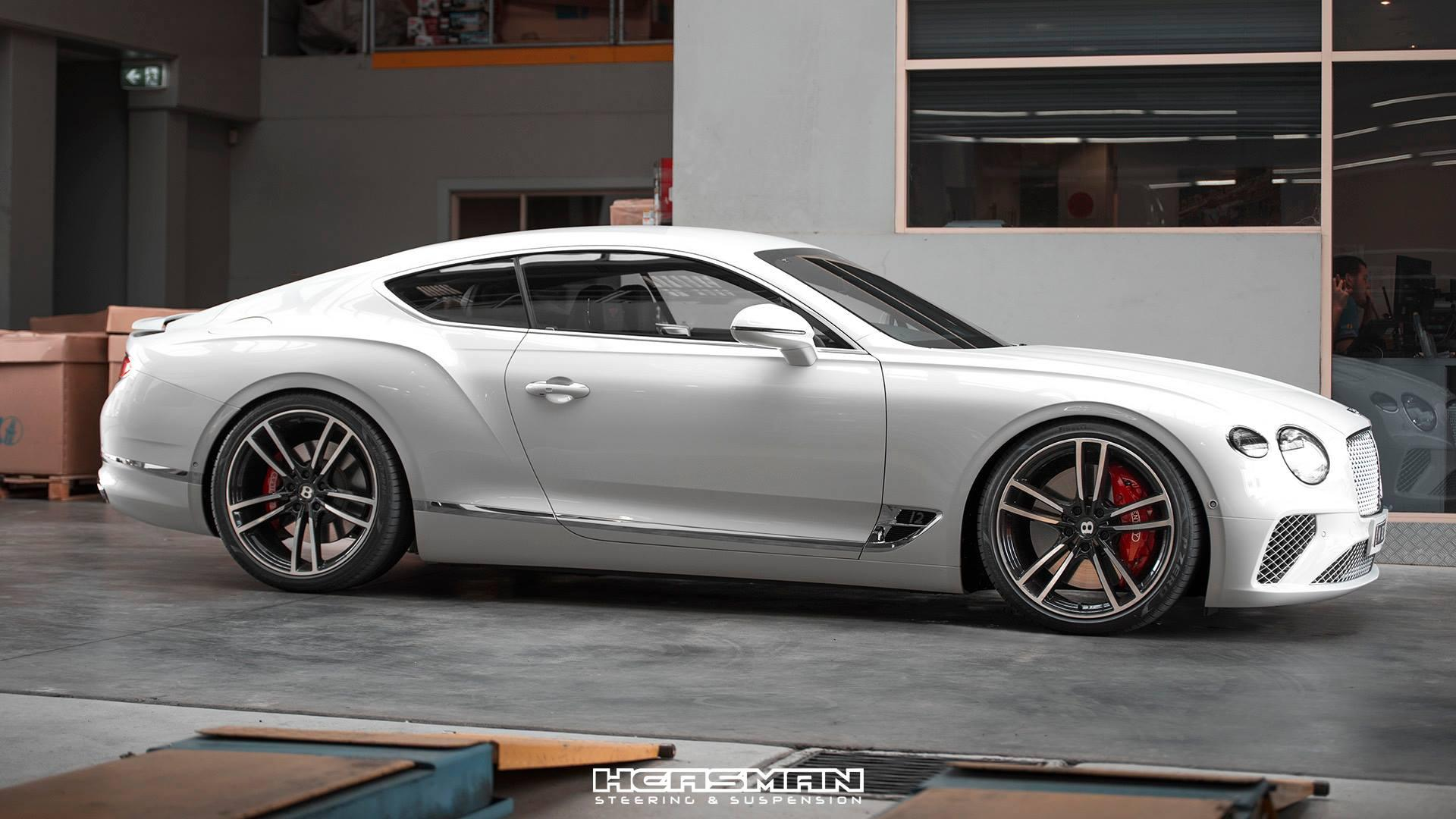 Verlaging Bentley Continental GT