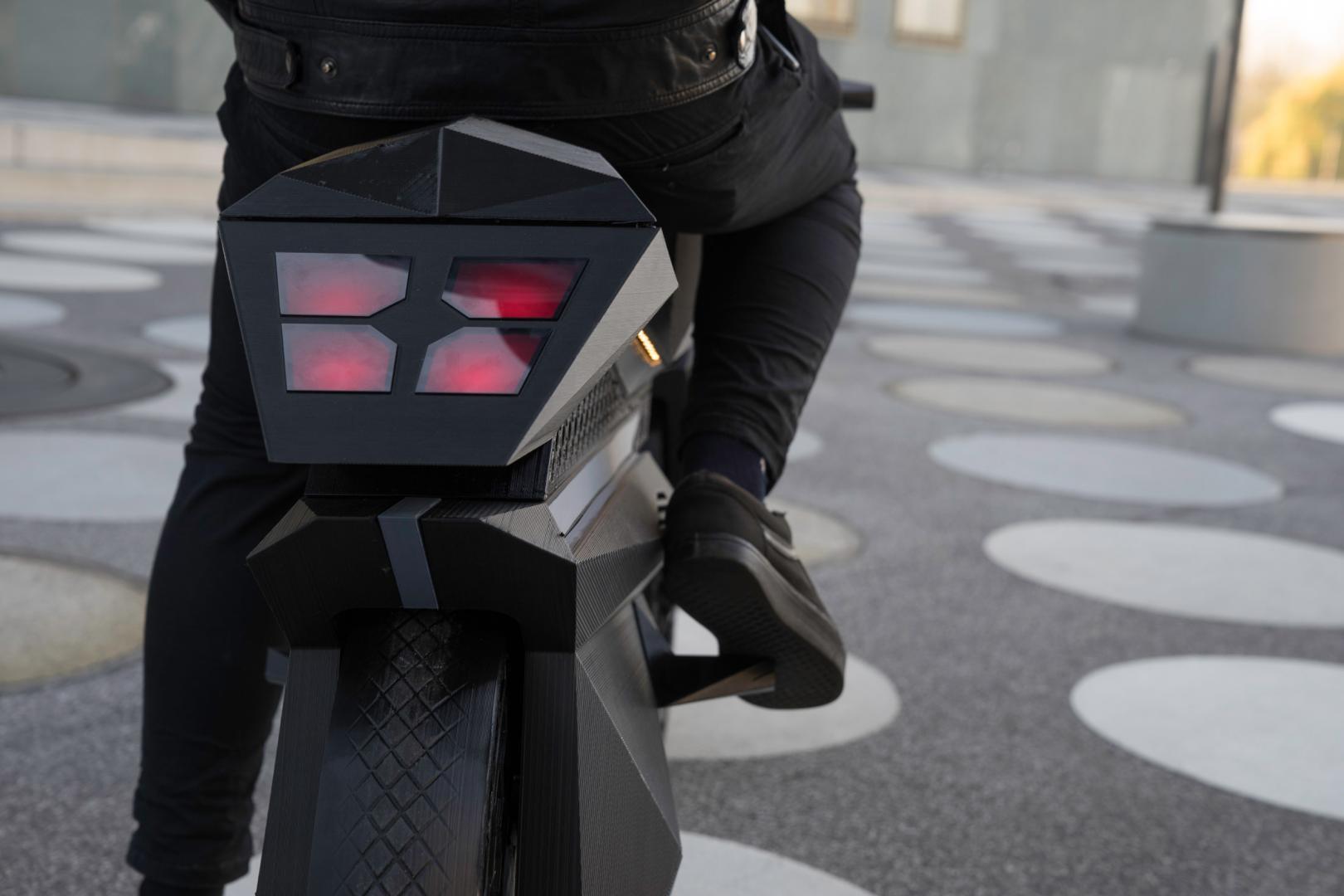 Bigrep Nera 3D-geprinte motorfiets