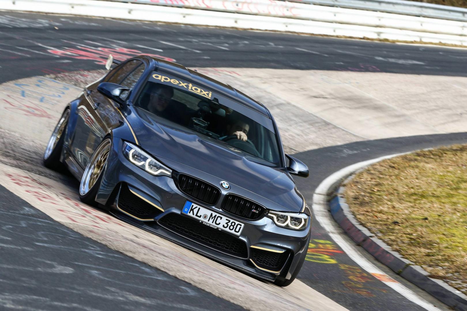 BMW M3 van Apex Taxi op de Nurburgring Nordschleife Karousel