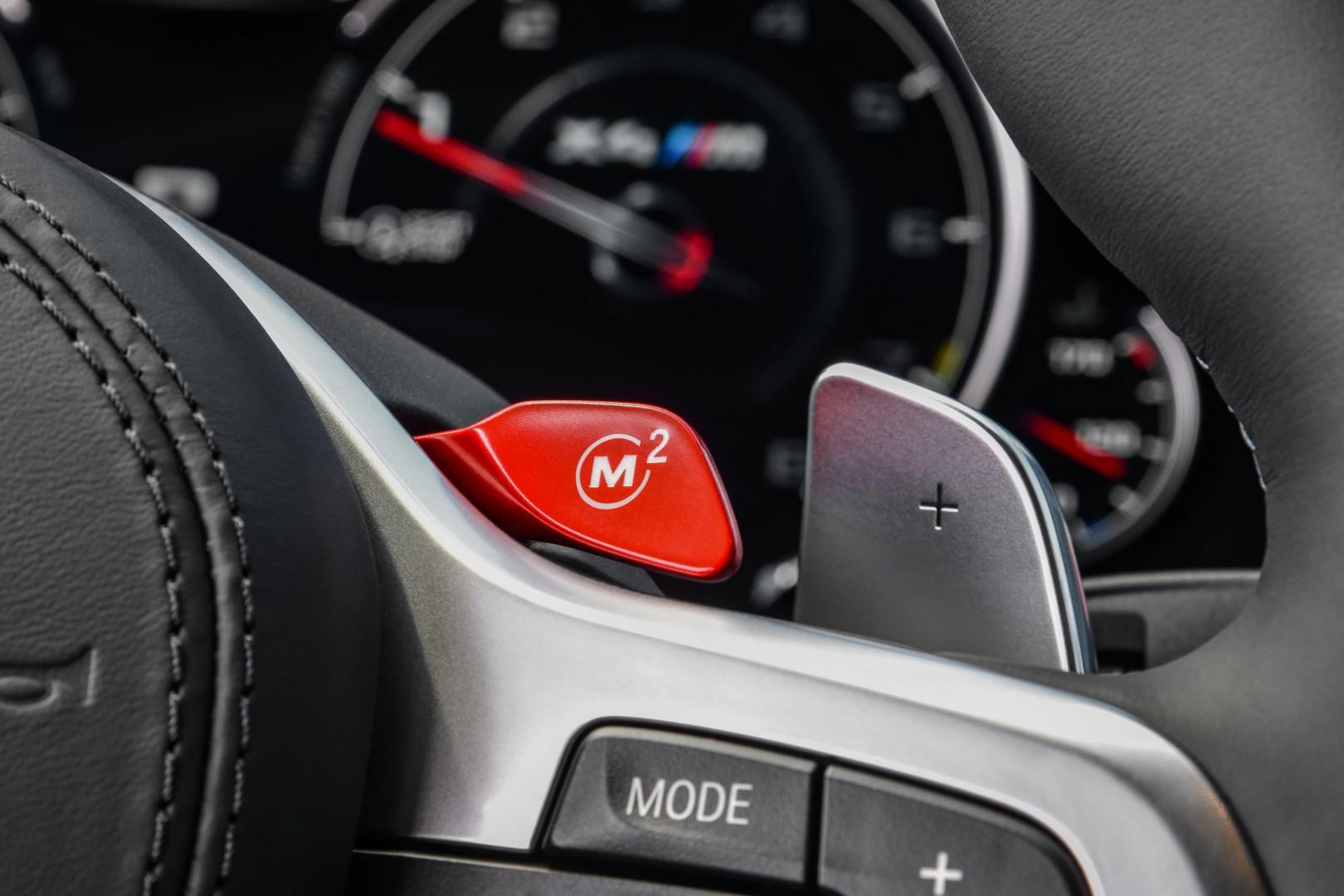 BMW X3 M en X4 M stuur knop