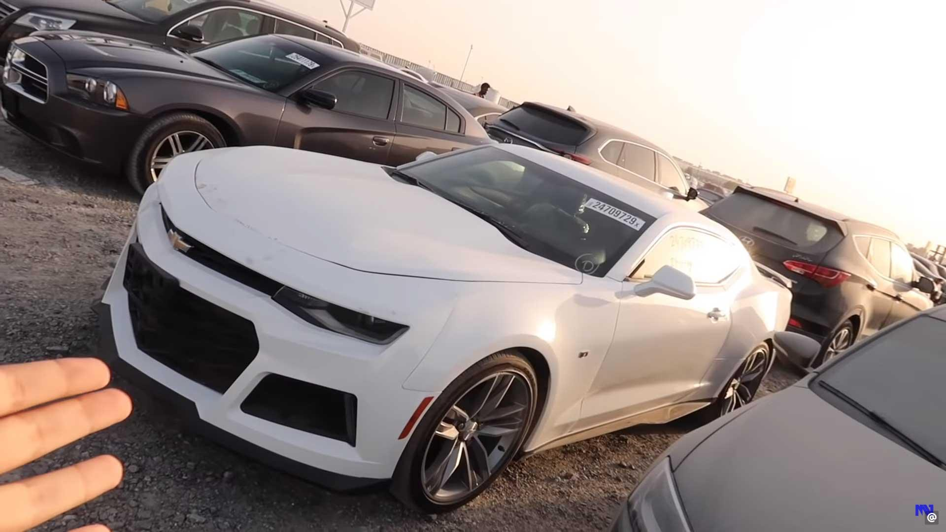 Chevrolet Camaro sloperij