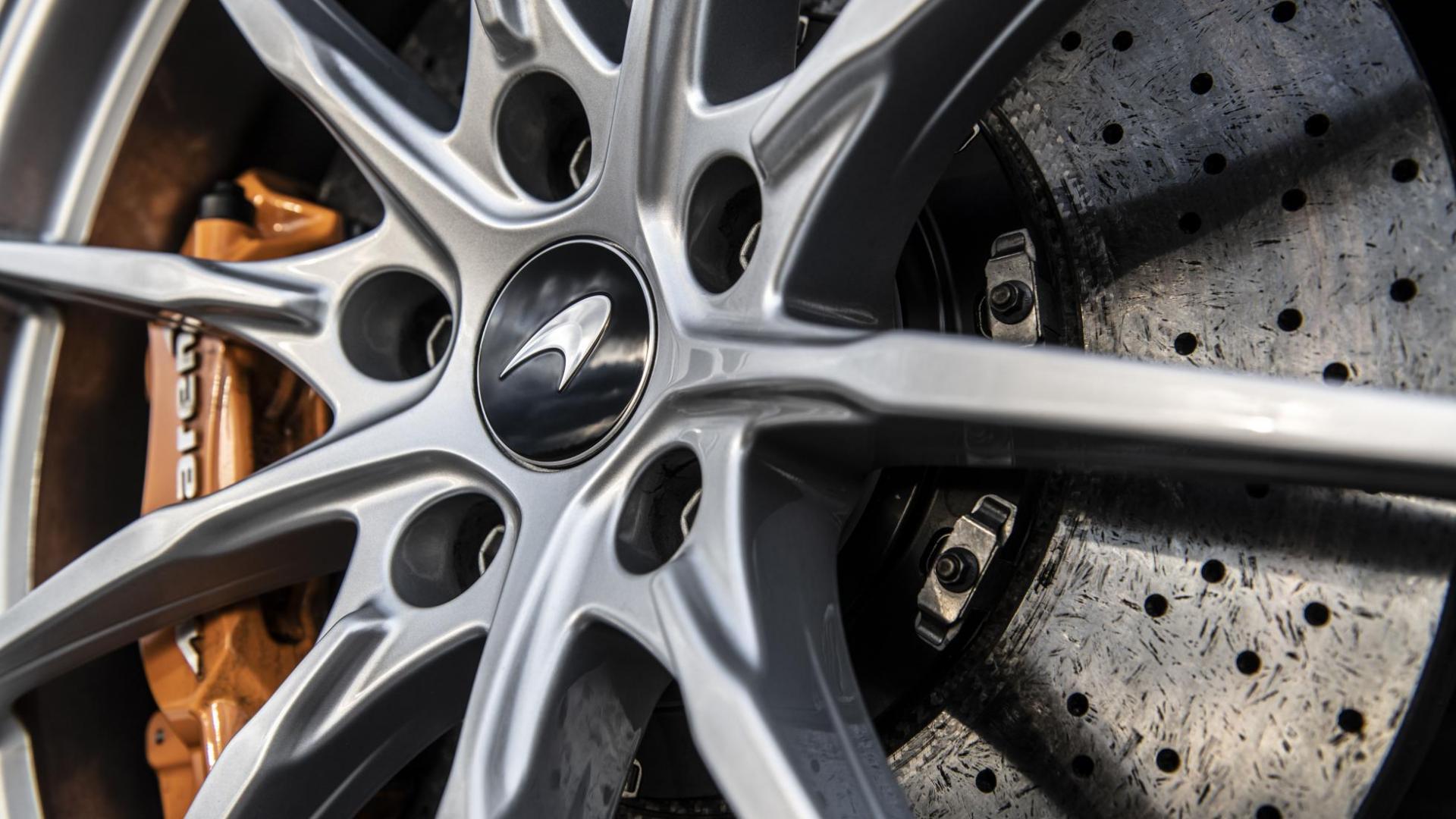 Hennessey McLaren 600LT velg remschijf keramisch