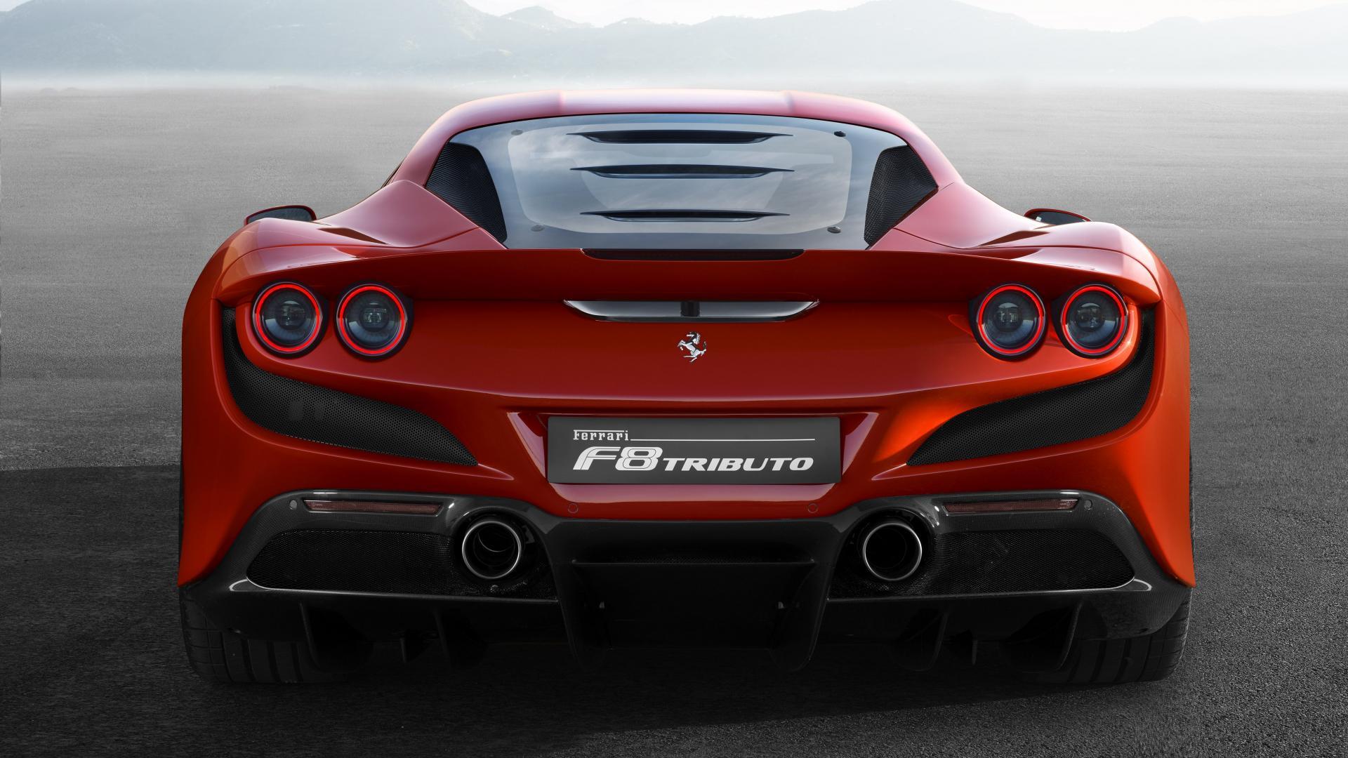Ferrari F8 Tributo 2019