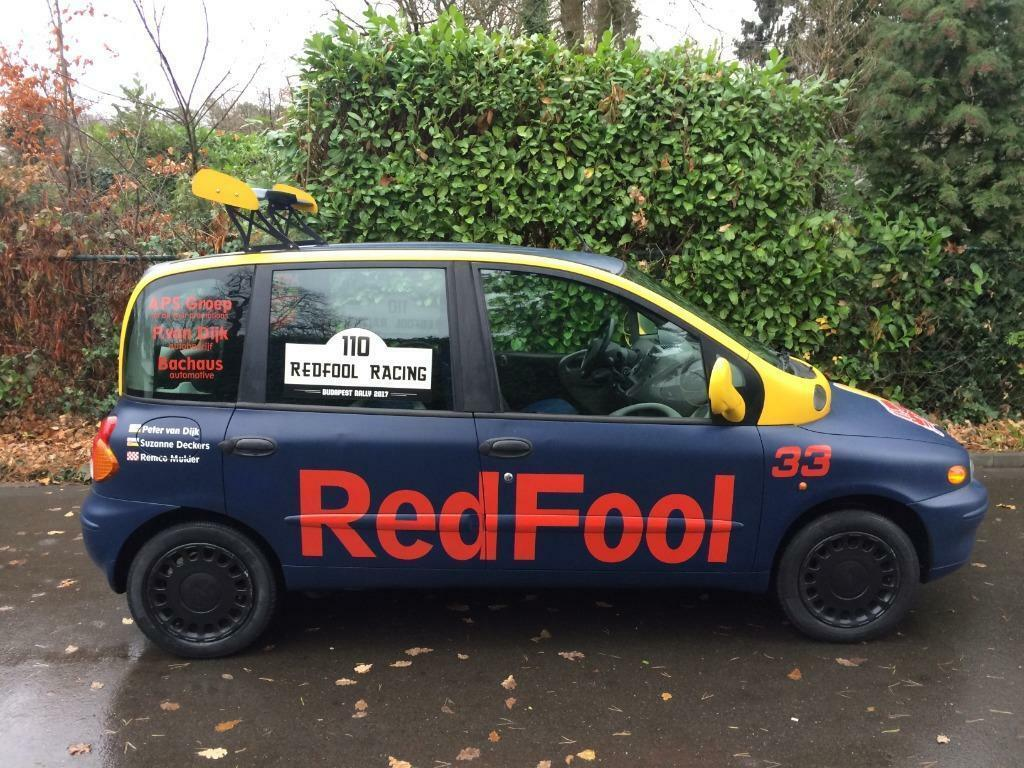 Fiat Multipla RedFool