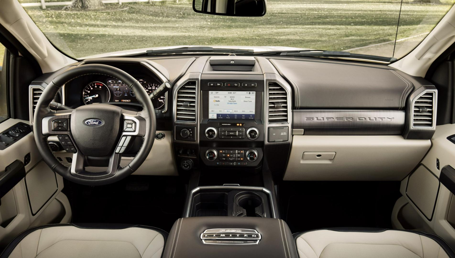 Ford F-series Super Duty interieur