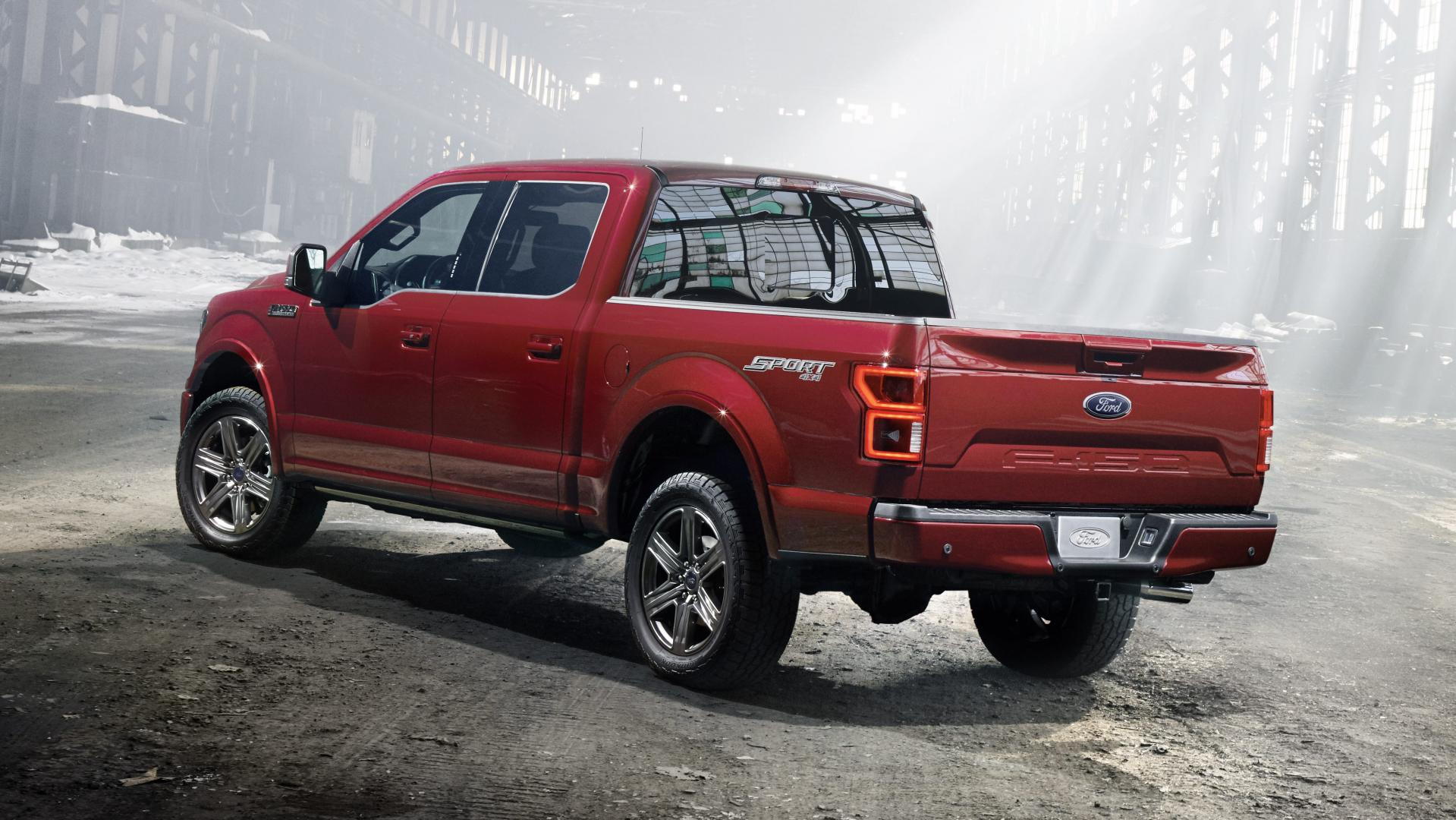 Ford F-150 2018 rood