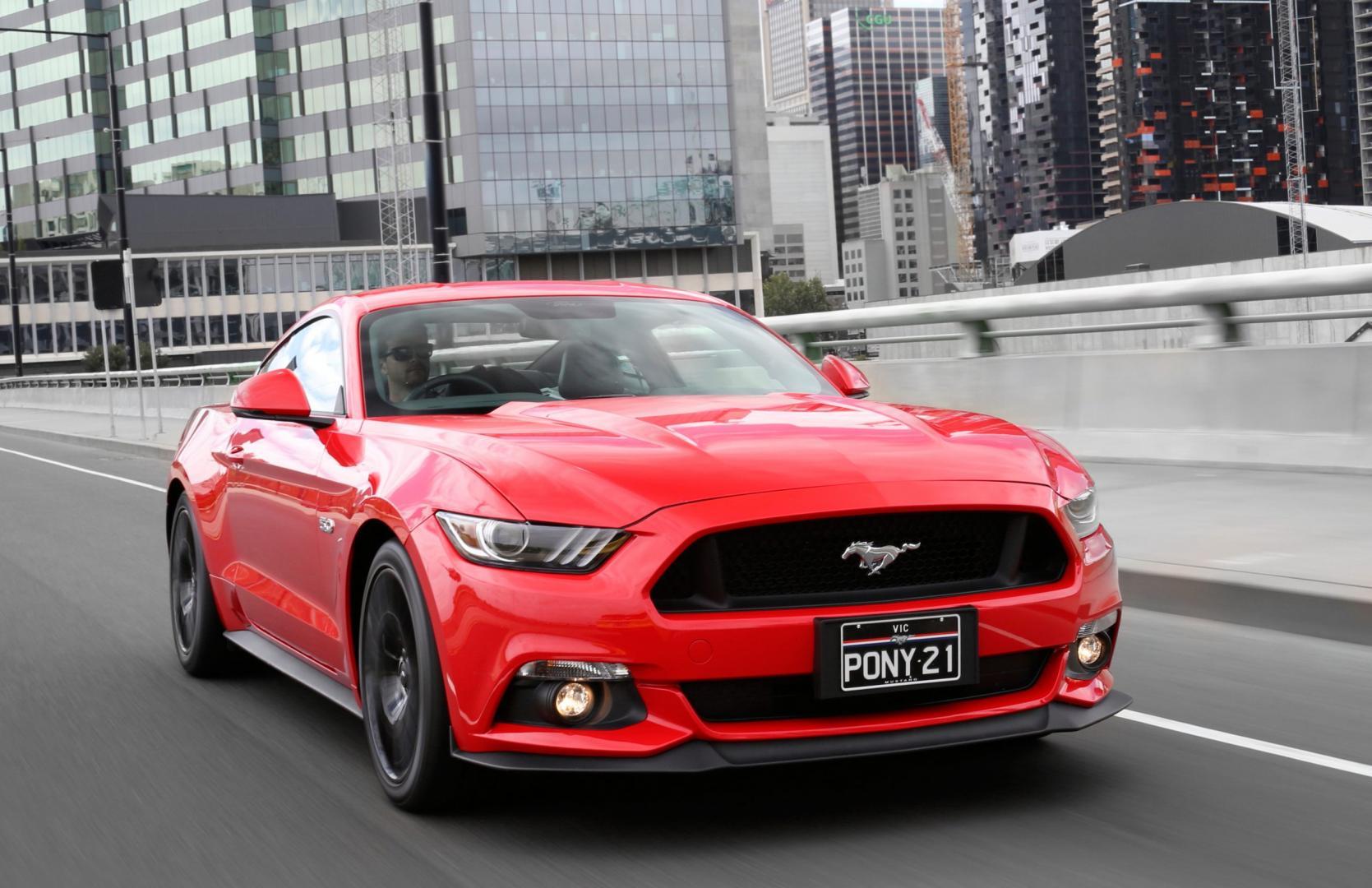 Ford Mustang in Australie