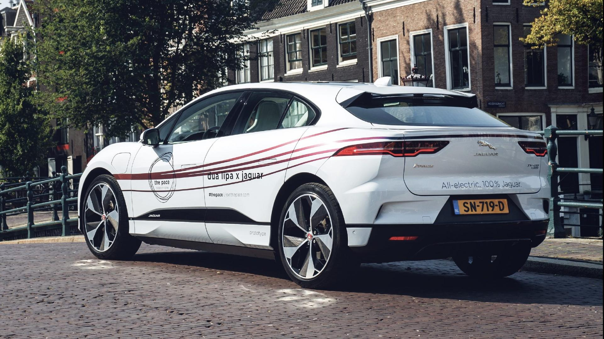 Jaguar I-PACE Amsterdam August 2018