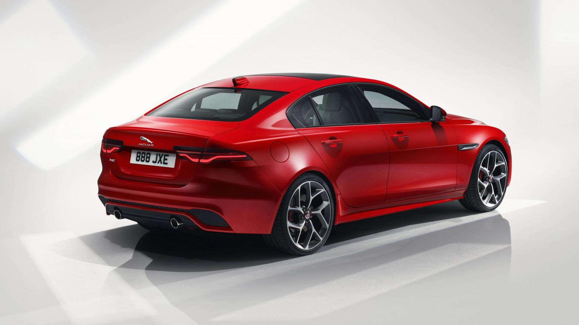 Jaguar XE-facelift